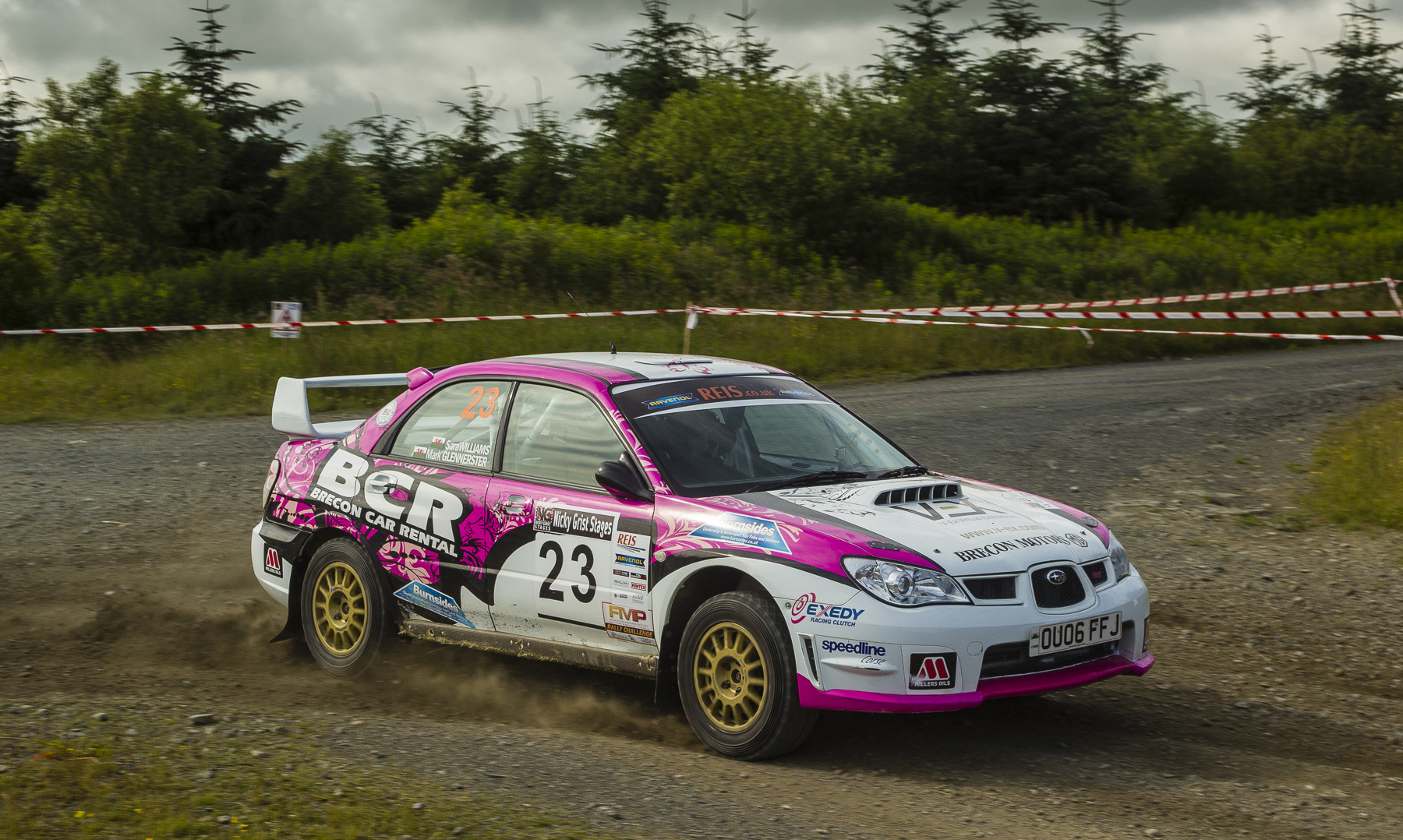 Sara Williams keeps the intensity at the Nicky Grist Stages 2015