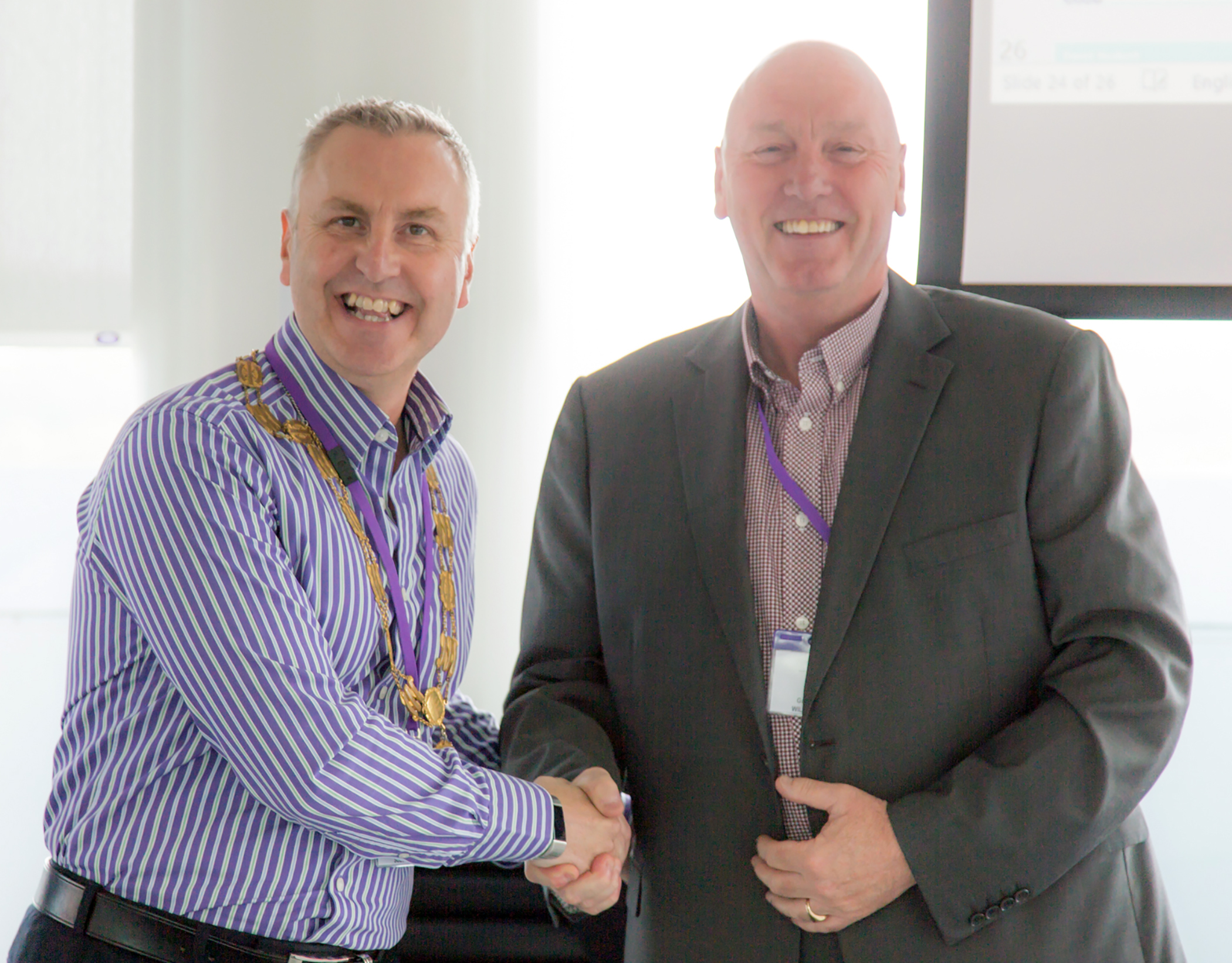 Gary Downes becomes President of the AEMT