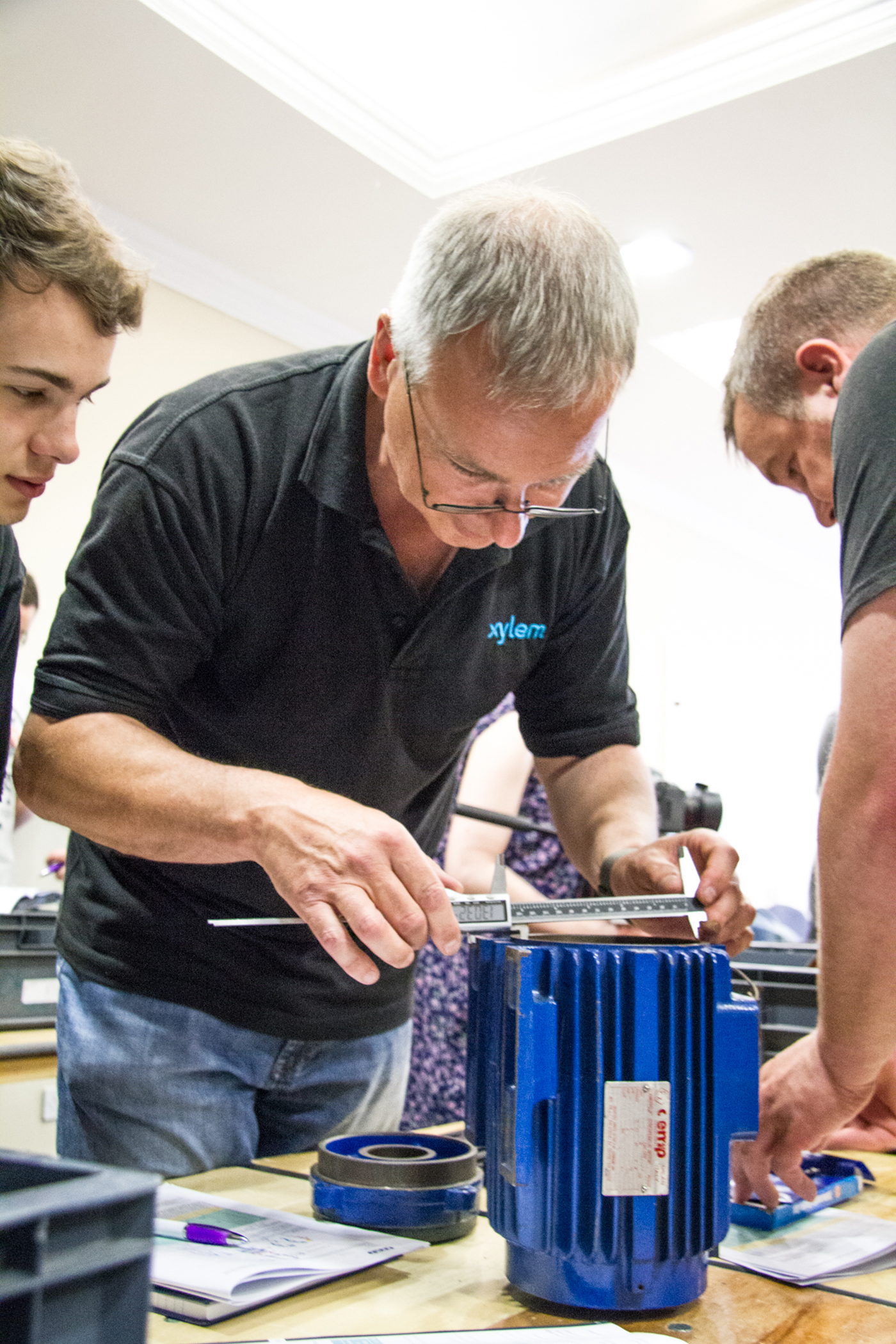 Success for delegates at AEMT's Ex equipment repair course in Loughborough.