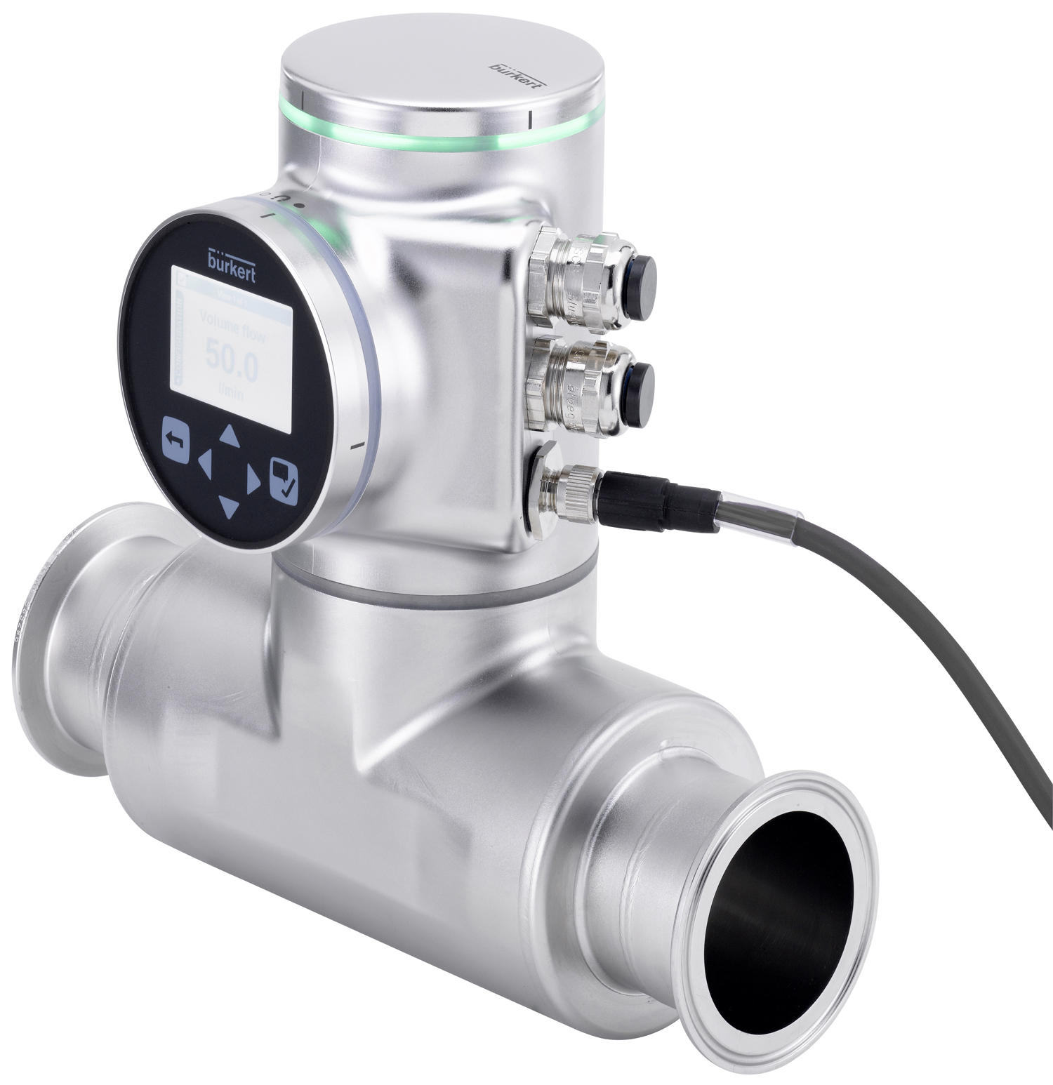 New flowmeter technology from Bürkert