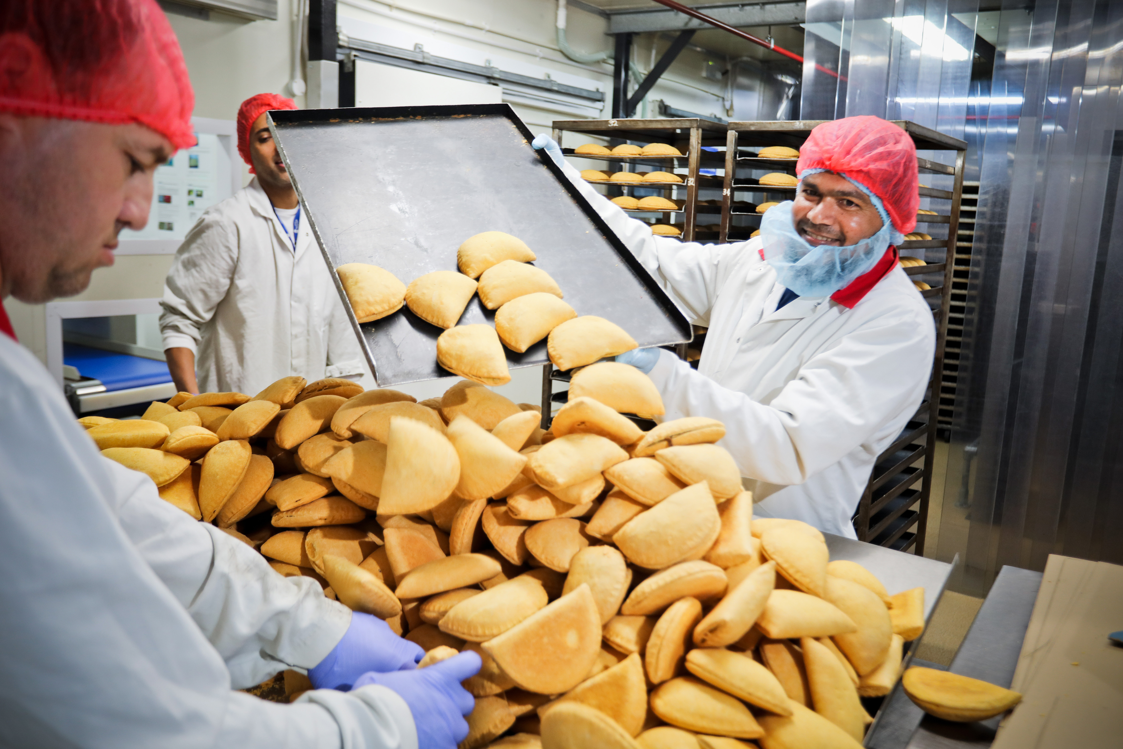 Jamaican patties remain a firm favourite, thanks to Burkert's 10-year-lasting valves