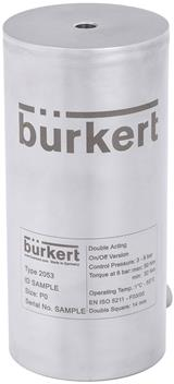 Bürkert launches hygienic actuator for automation of rotary valves