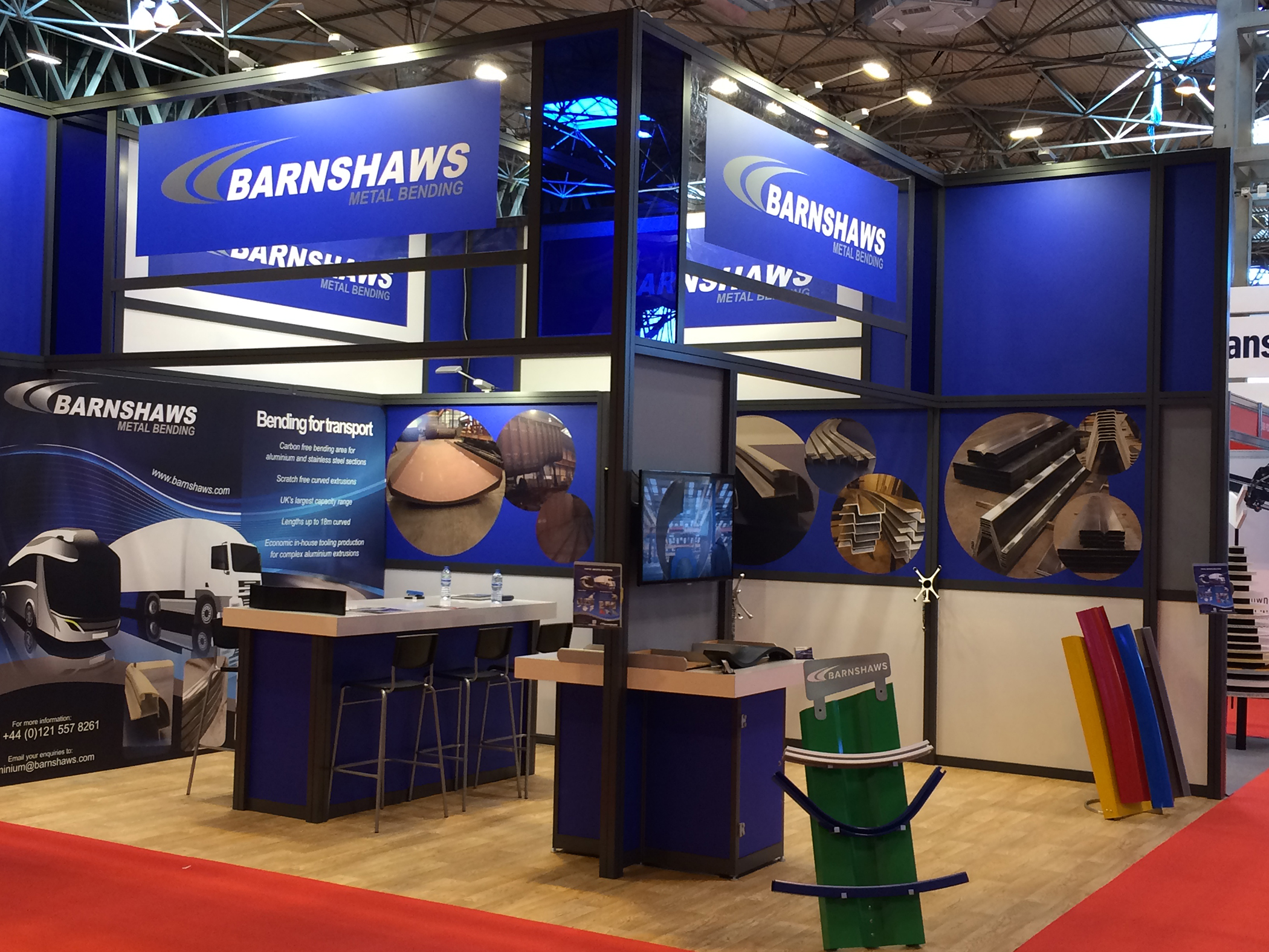Barnshaws provides fleet efficiency solutions for Commercial Vehicle Show 2017
