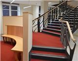Barnshaws' Manchester Branch steps up with Stockport Grammar School staircase
