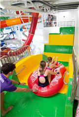Barnshaws slides in to provide curved metal for Coventry's new waterpark