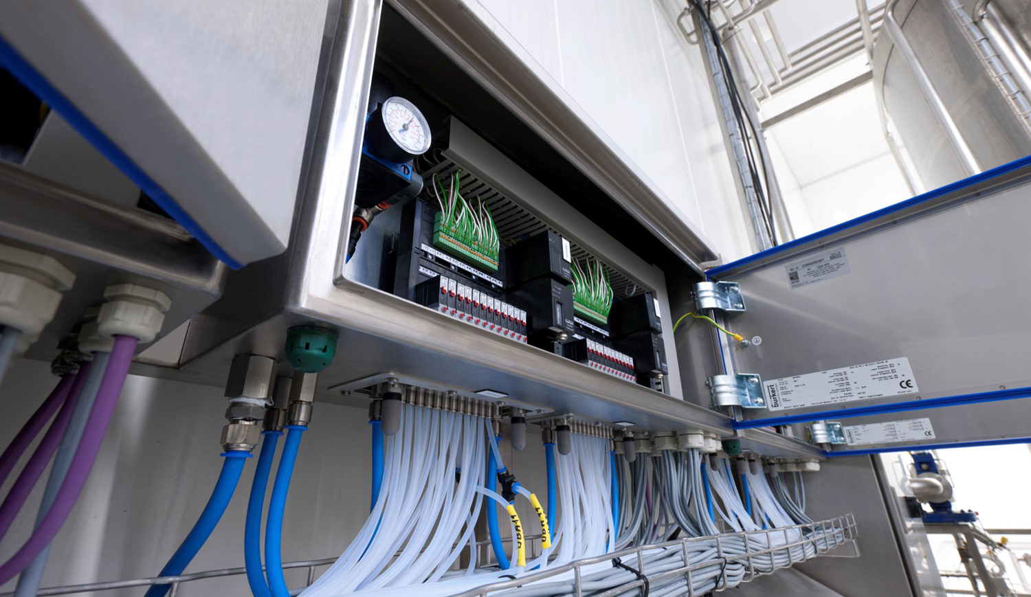 Finding the best partner for hygienic process control projects
