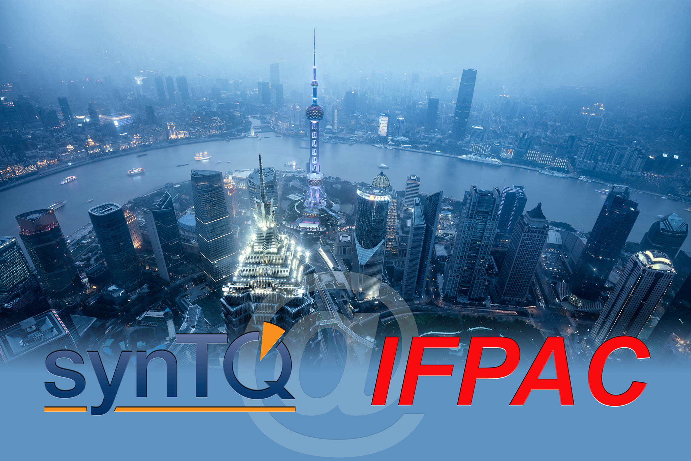 Optimal's proven synTQ PAT platform at IFPAC China 2017