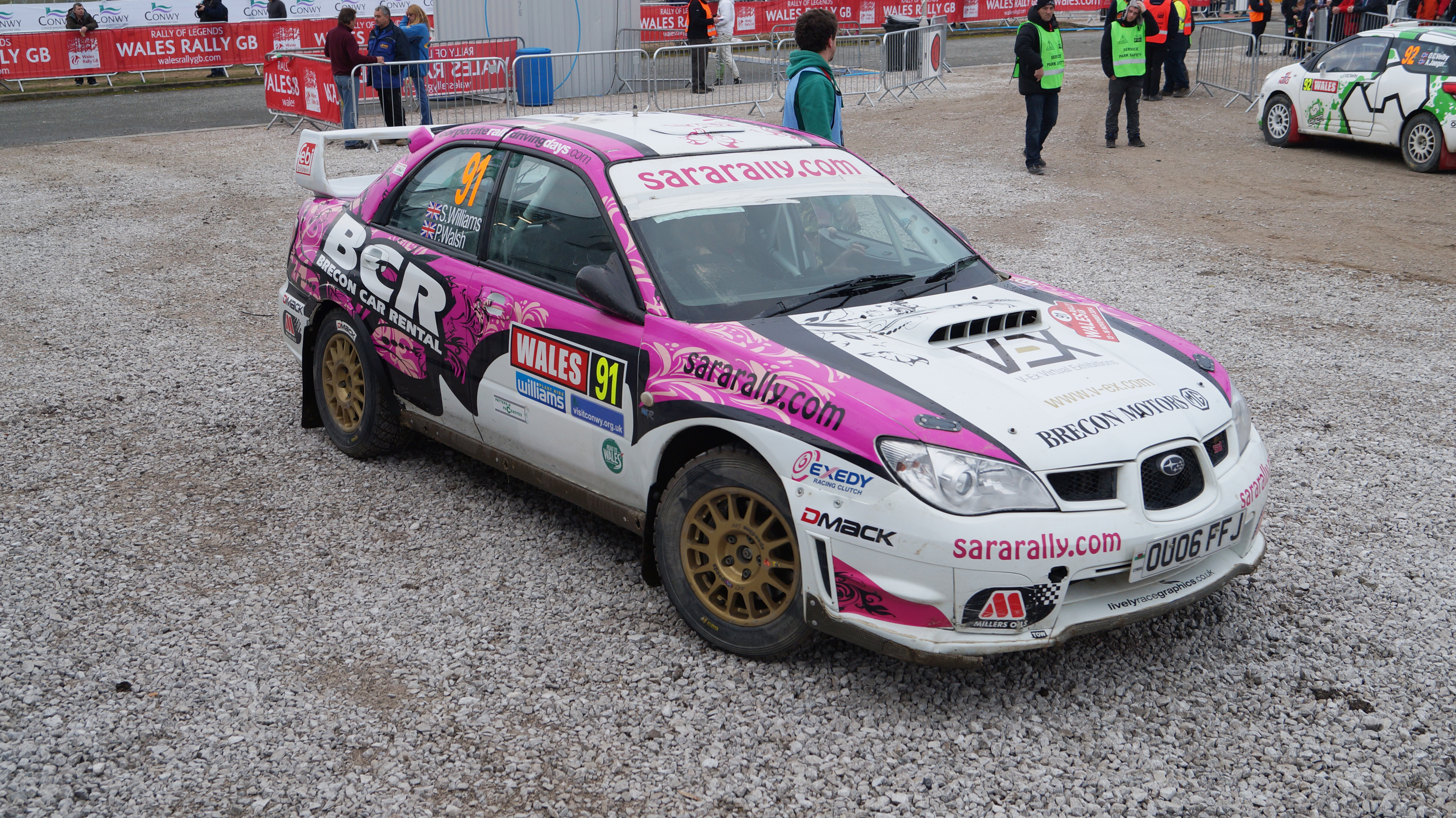 Britain's #1 Female Rally Driver to Compete at the Somerset Rally, 18th April 2015