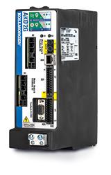 New servo drive and motor package increases performance and minimizes footprint