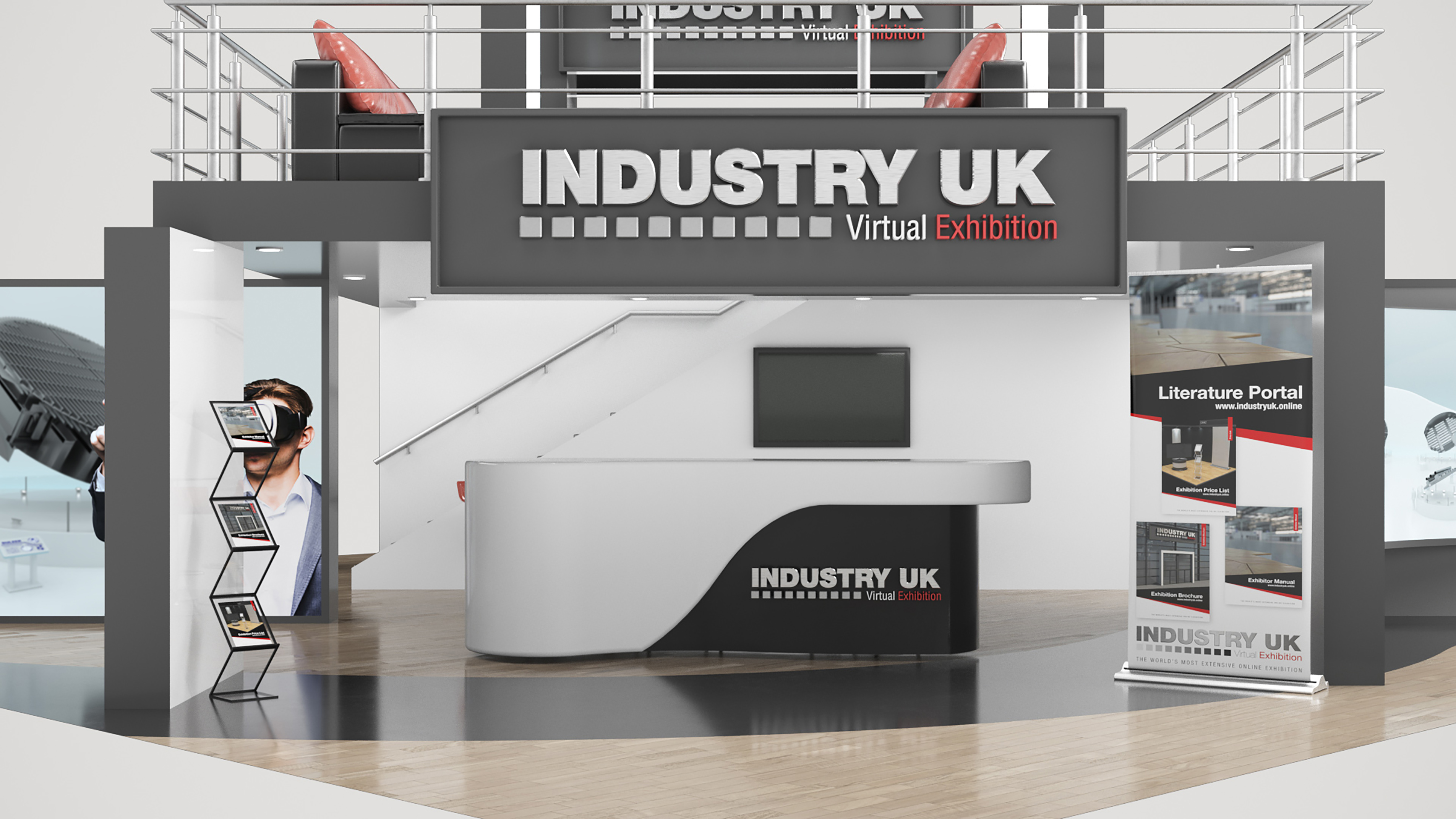 Introducing the ground-breaking IndustryUK virtual exhibition