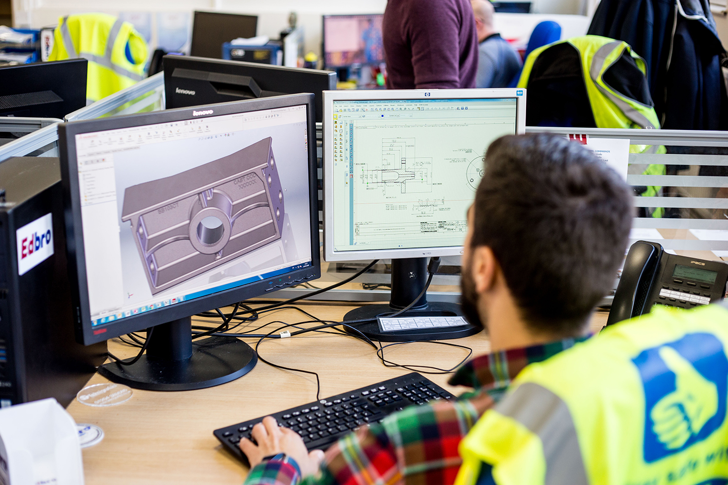 Edbro Technical Centre takes the pressure off on-vehicle hydraulic engineering