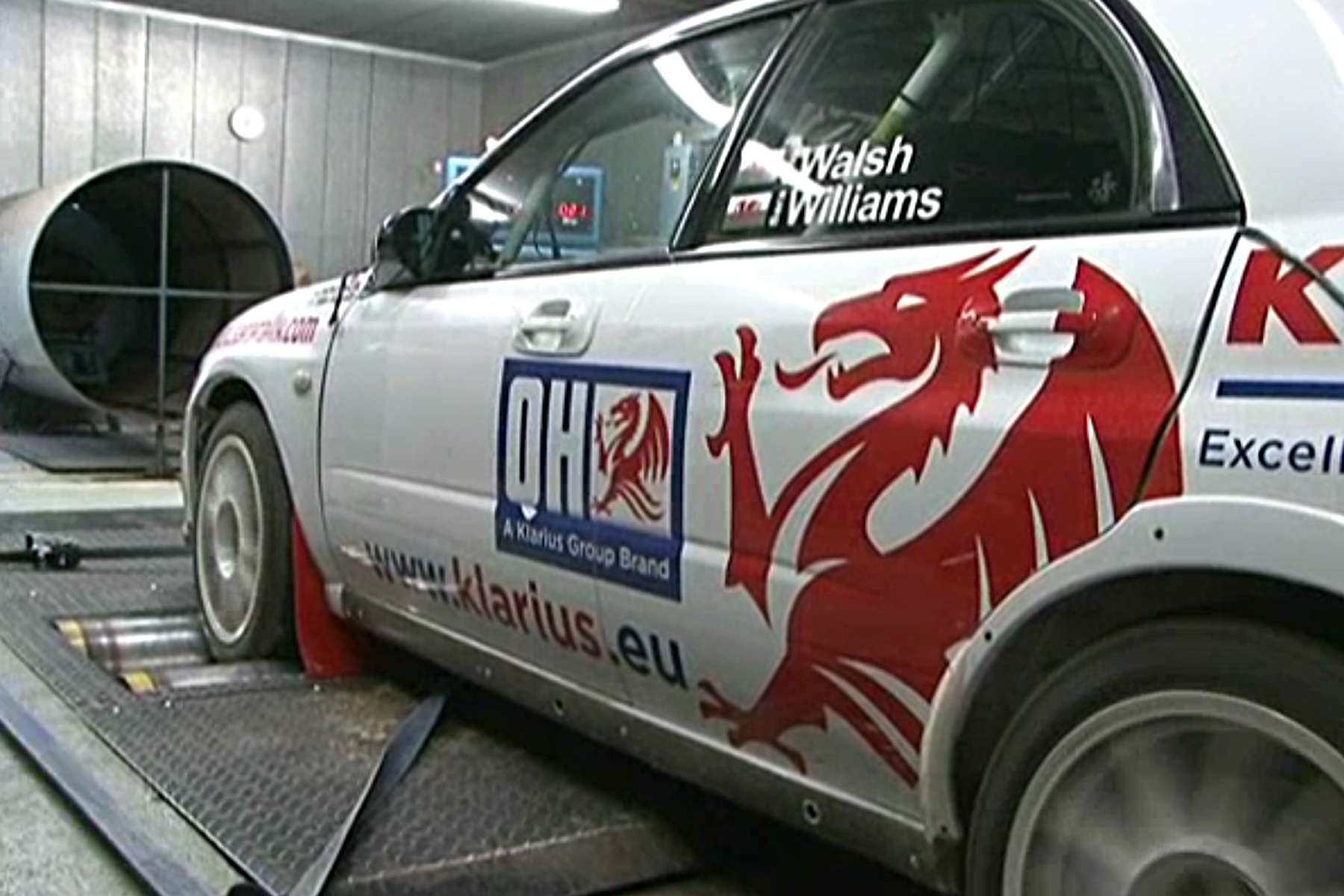 Road car components go rallying - developing Sara Williams' Subaru for the 2012 season