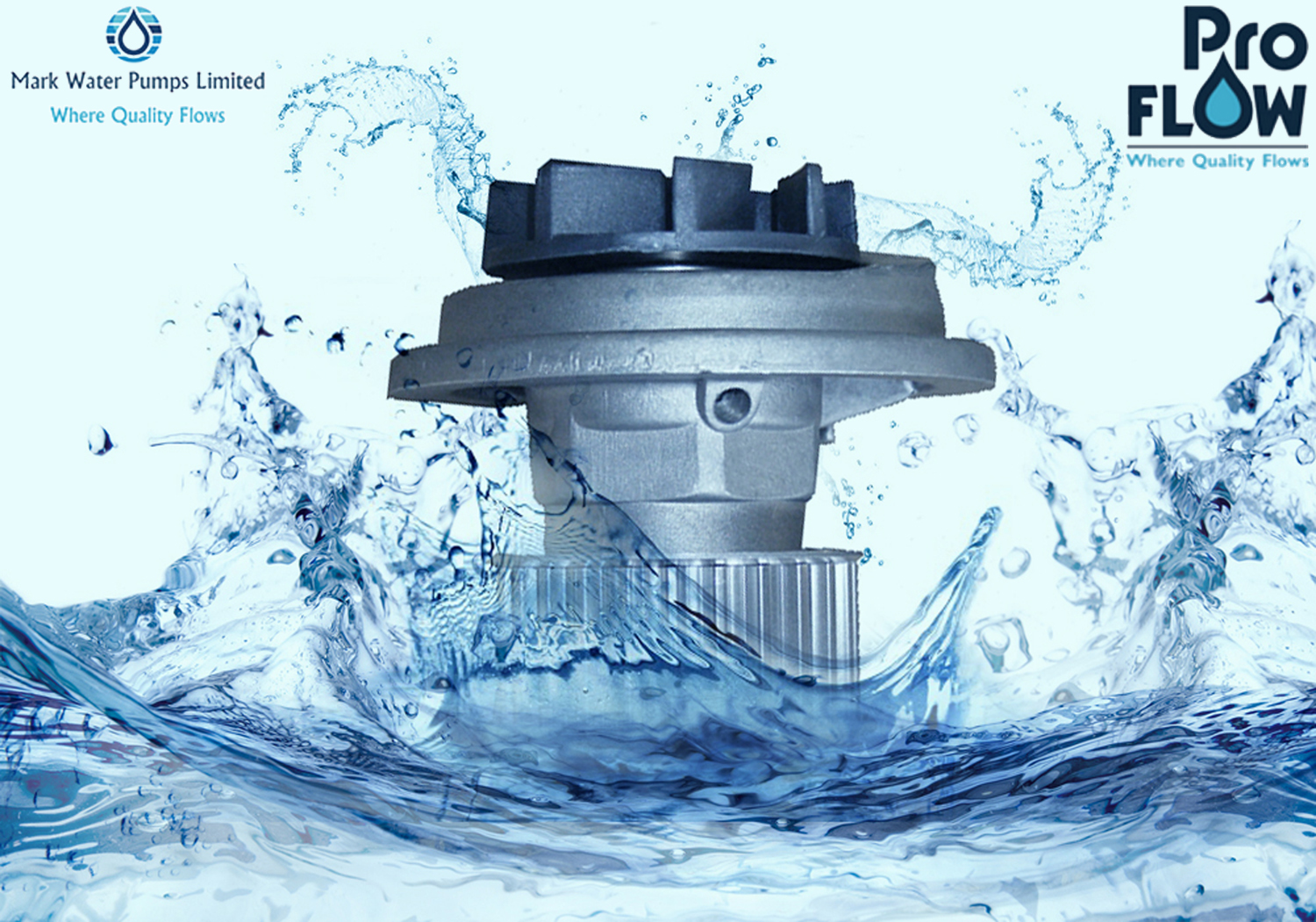 """OEM """"PROFLOW"""" water pumps support premium cars from factory to aftermarket"""