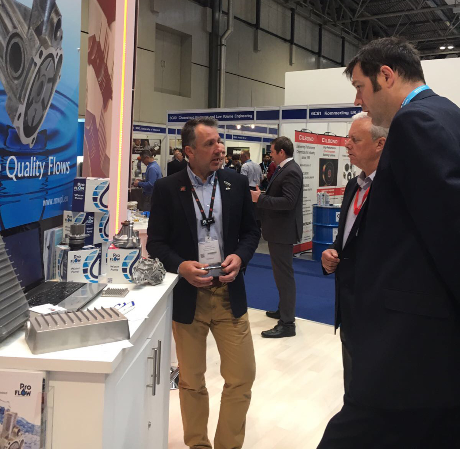 Automechanika 2017 is a hit for Welsh automotive parts manufacturer