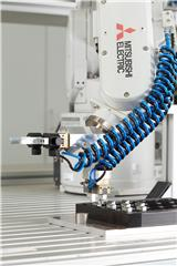 Pick-and-place robot cell is cost efficient for small batch sizes
