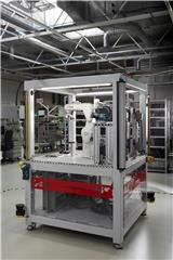 Cost efficient handling of variable batch sizes with a flexible robot cell