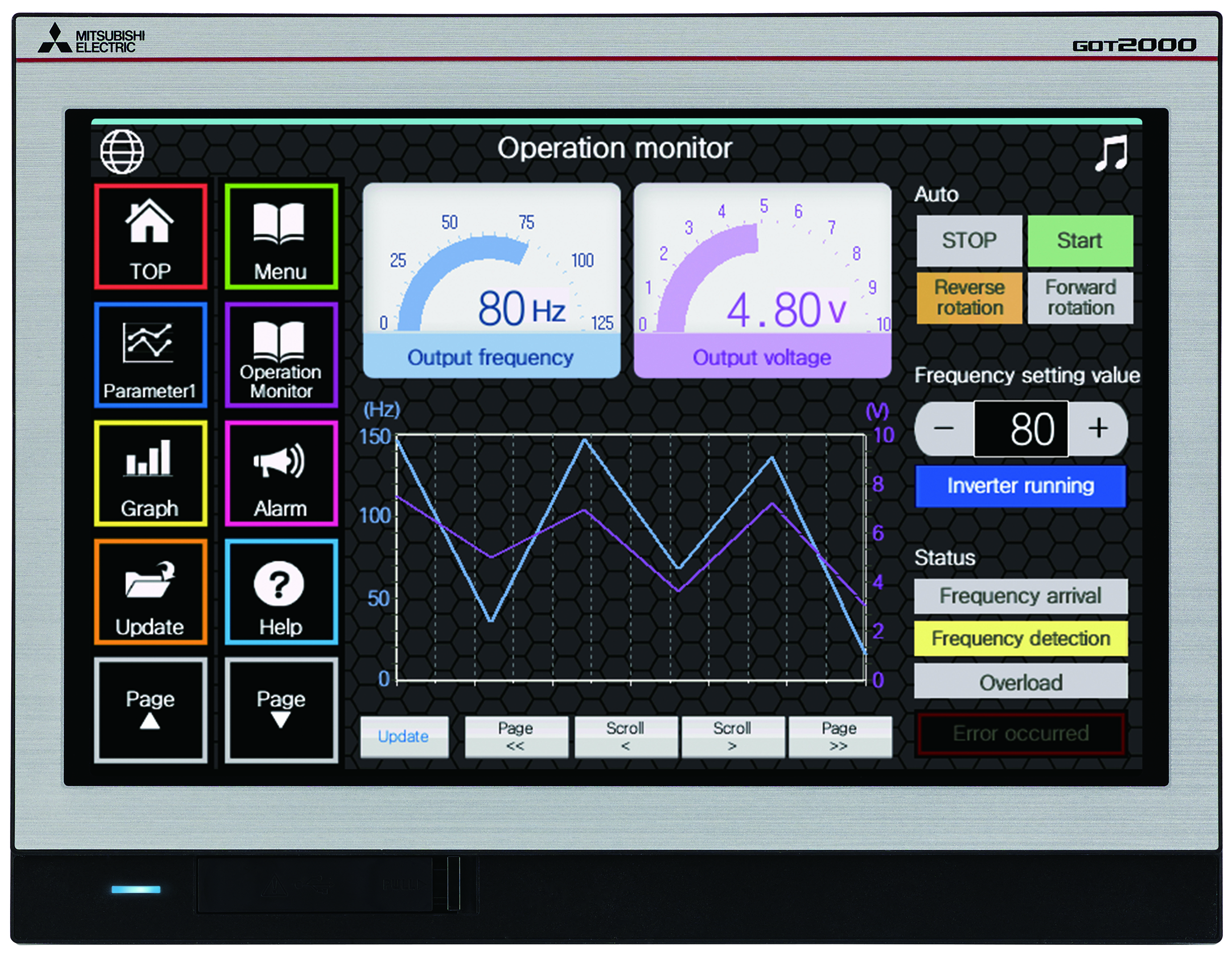 New widescreen HMIs from Mitsubishi are stylish and feature packed