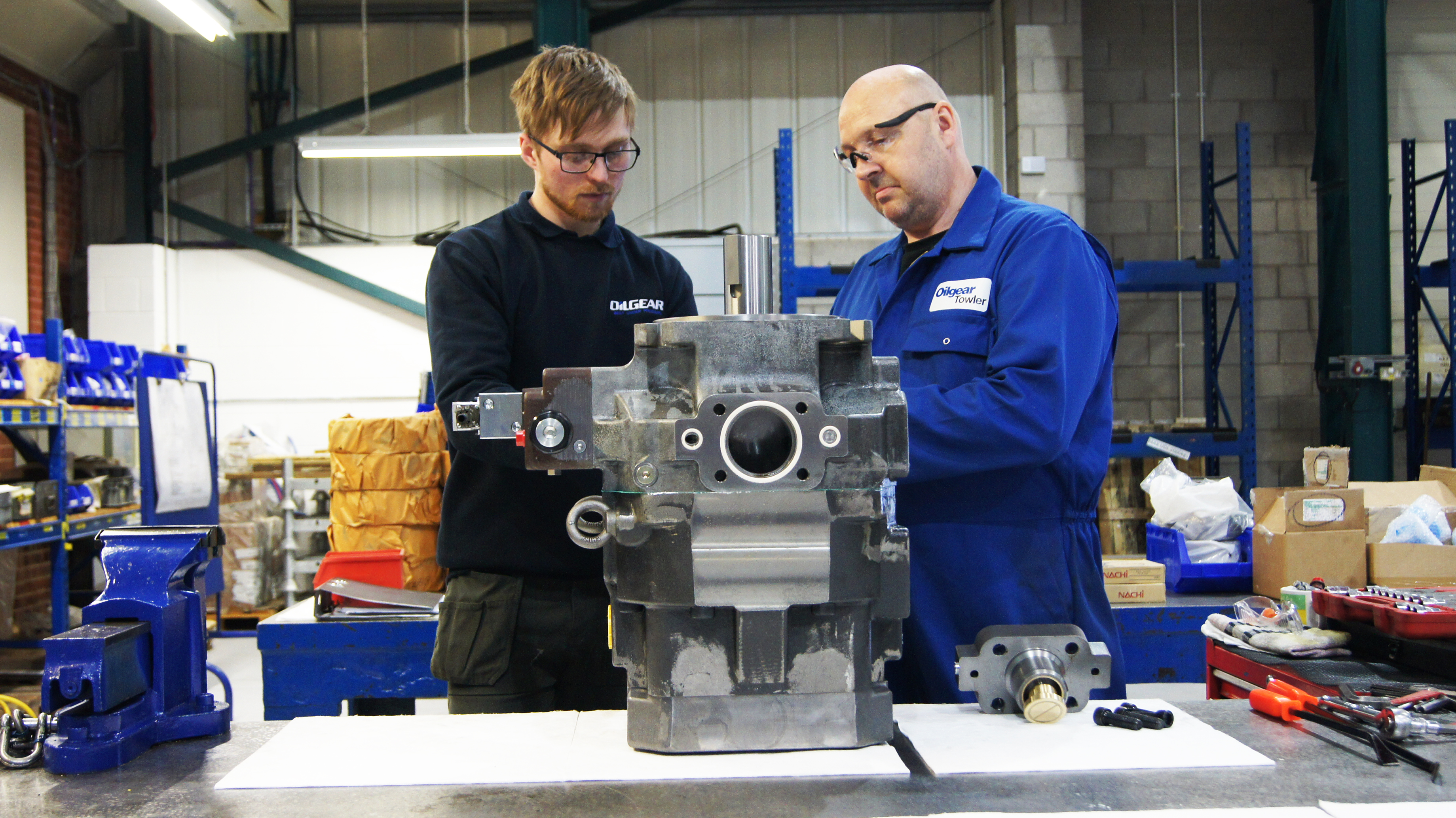 Finding the right hydraulic maintenance partner