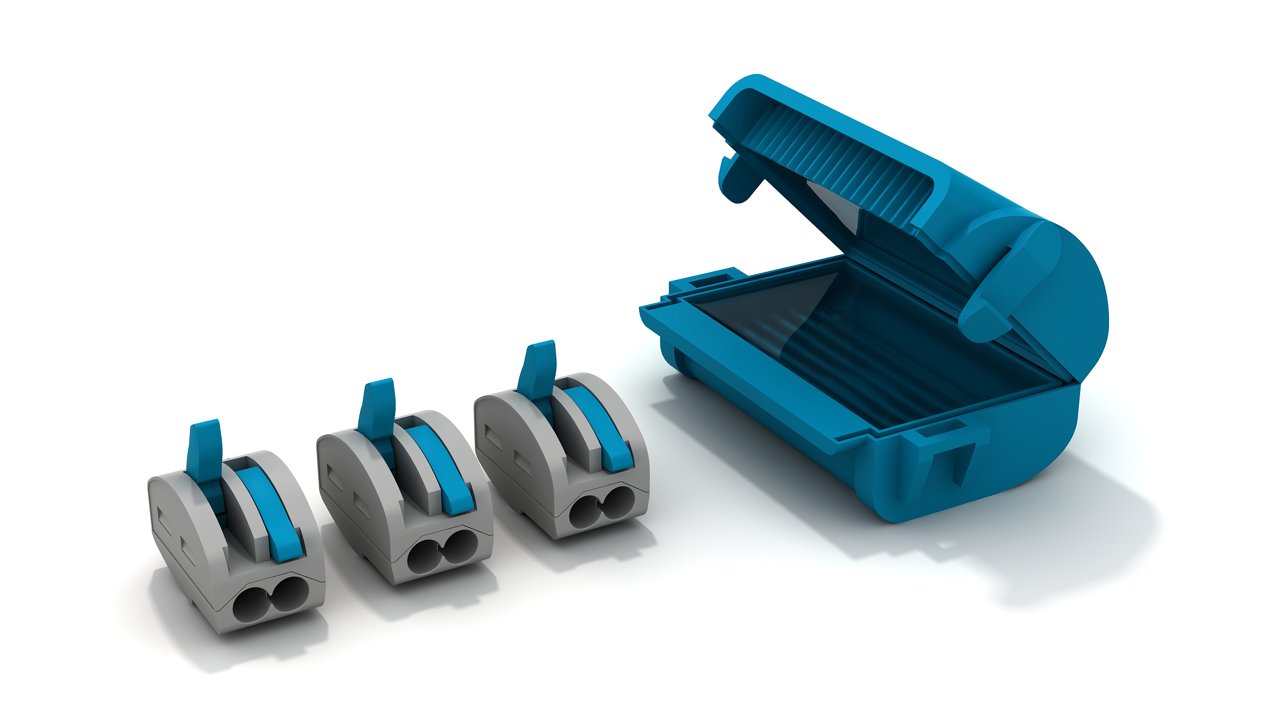 Optimas and Wiska deliver market leading ingress protection for lever terminal blocks