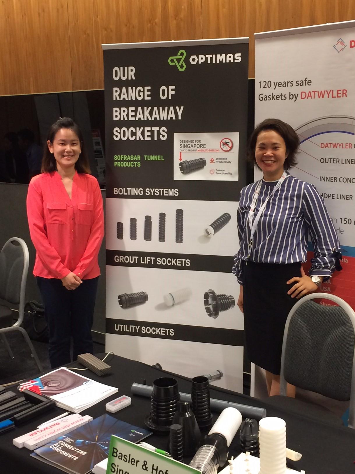 Optimas Solutions Tunnel Division brings fastener innovations to SICAT 2017