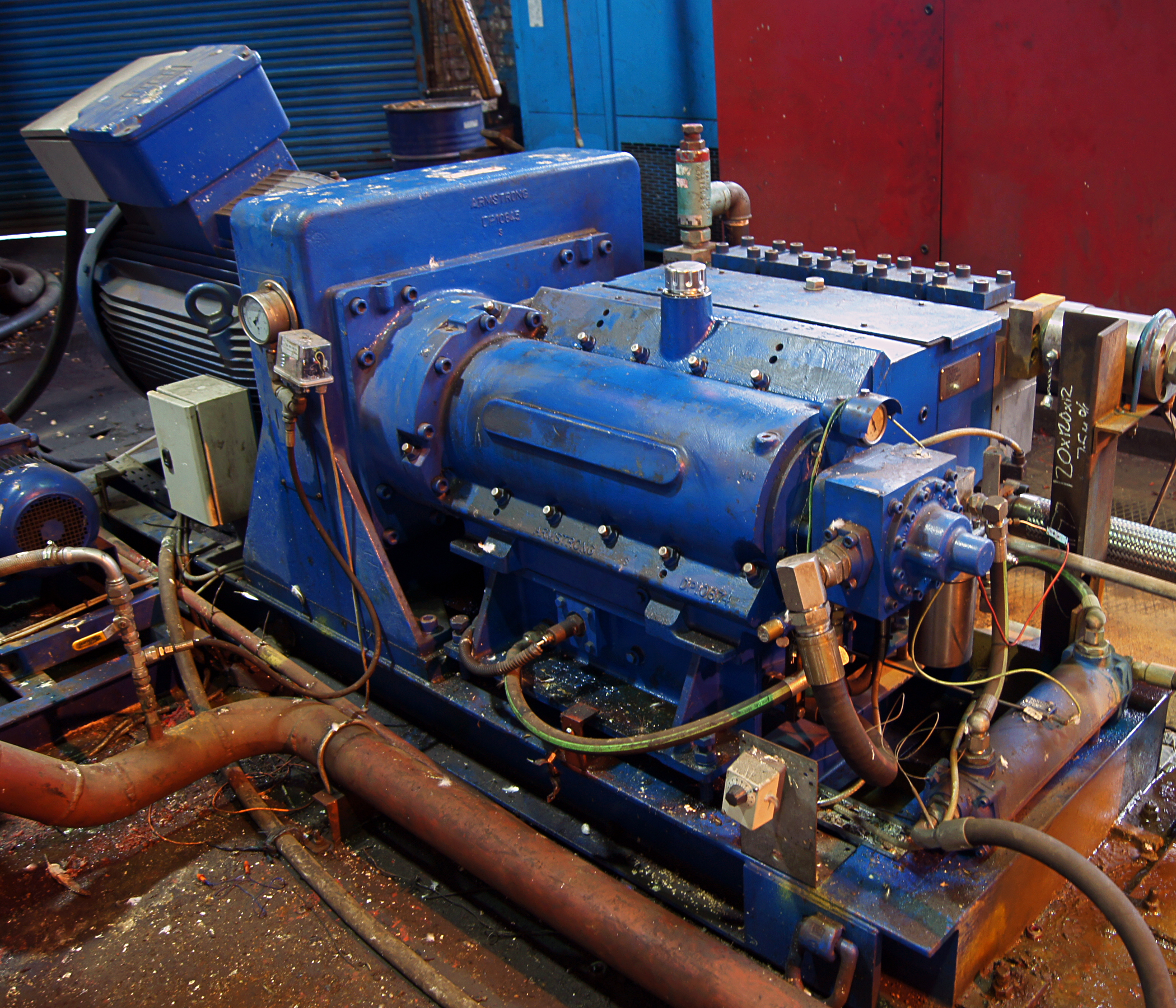RMI provides long term pump reliability to Sheffield Forgemasters International