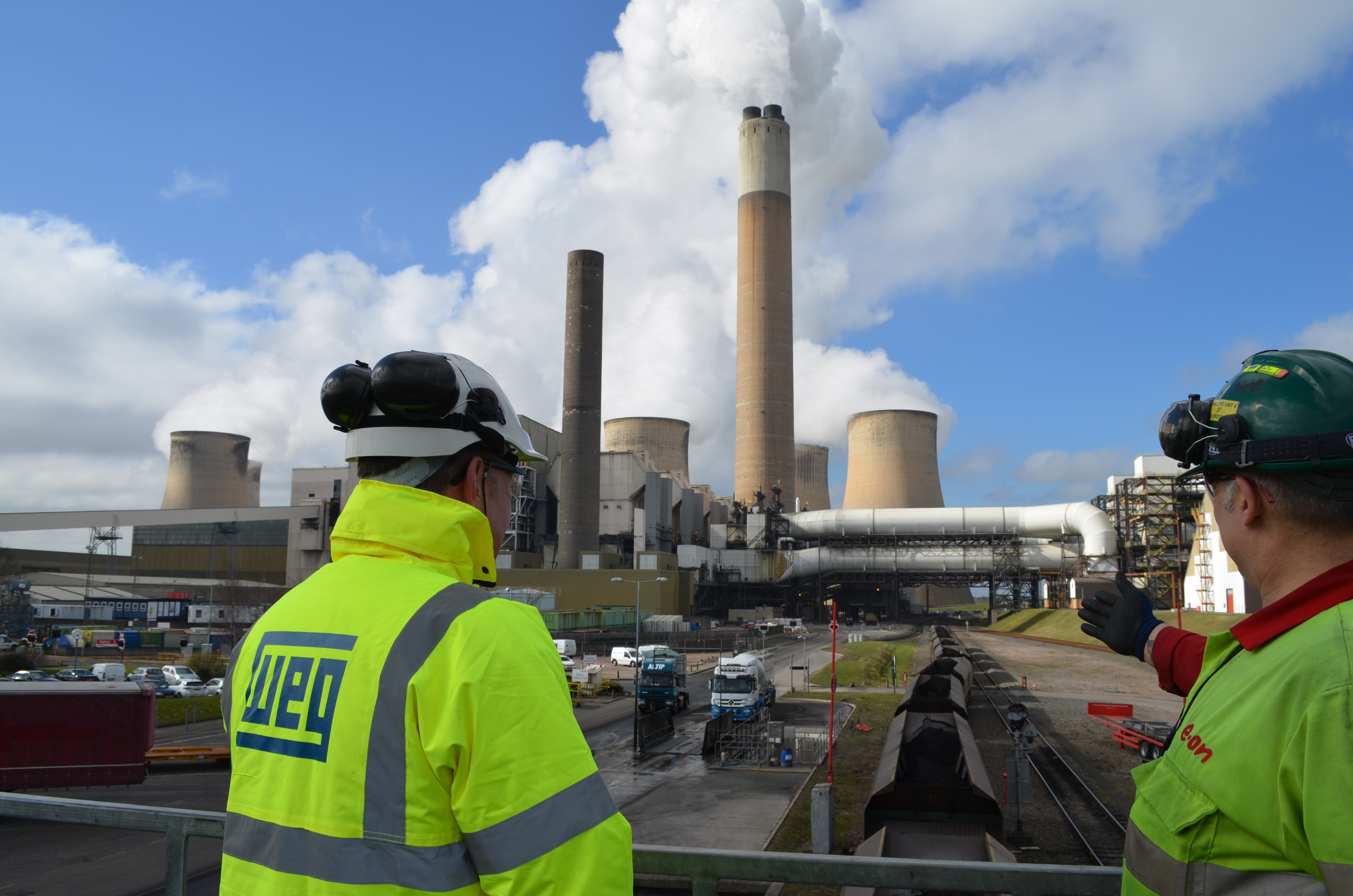 Eight 4.3MW fan motors from WEG drive emission reducing SCR plant at Ratcliffe-on-Soar power station