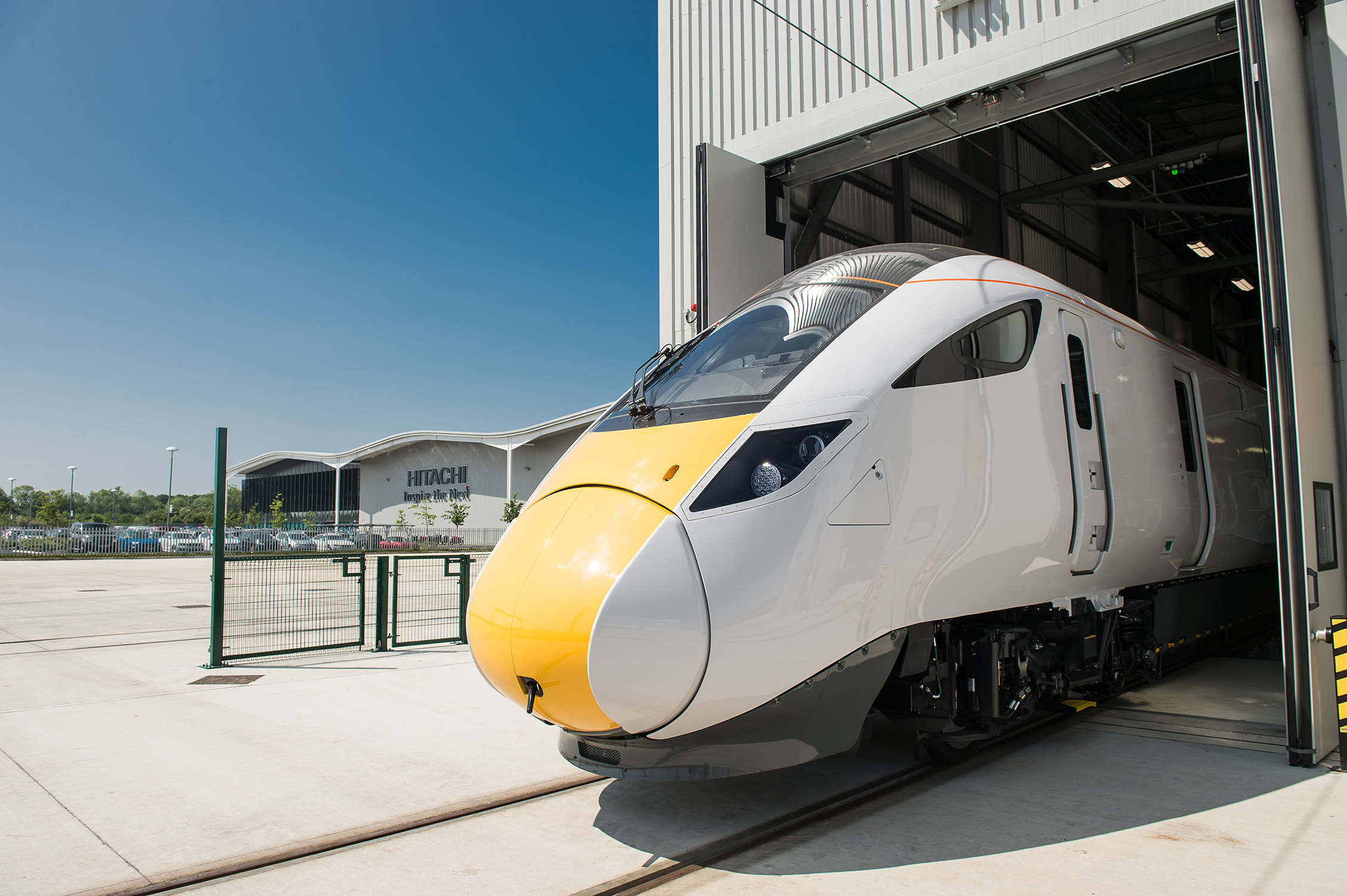 Optimas makes tracks at new Hitachi Rail manufacturing facility