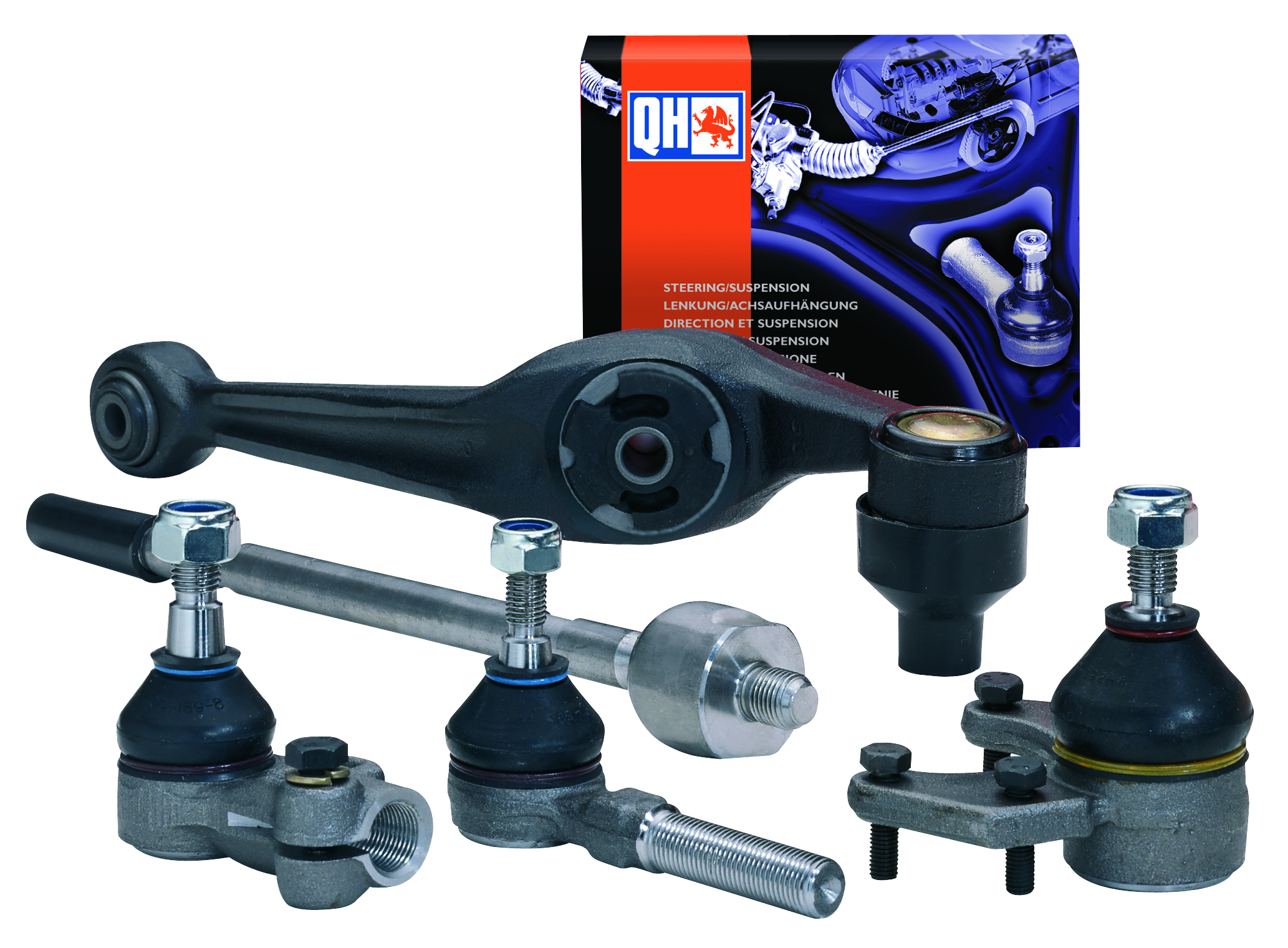 Quinton Hazell launches largest ever steering and suspension catalogue (QH6/11)