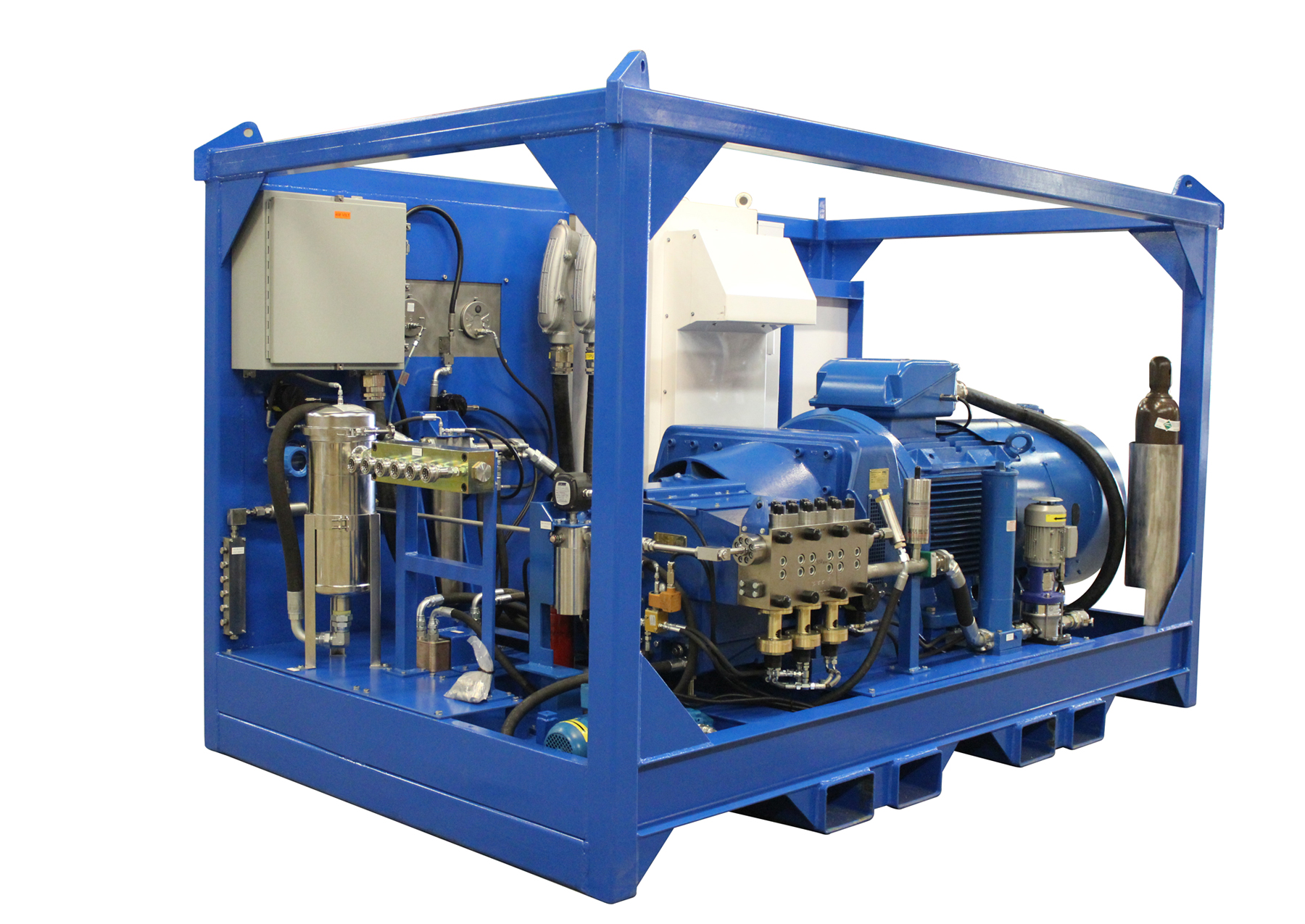 Umbilical test rig improves efficiency of testing & commissioning