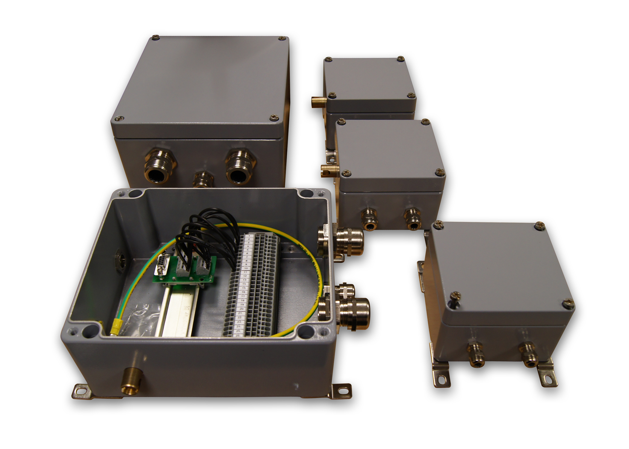 Spelsberg's next day custom enclosure samples keep projects on schedule