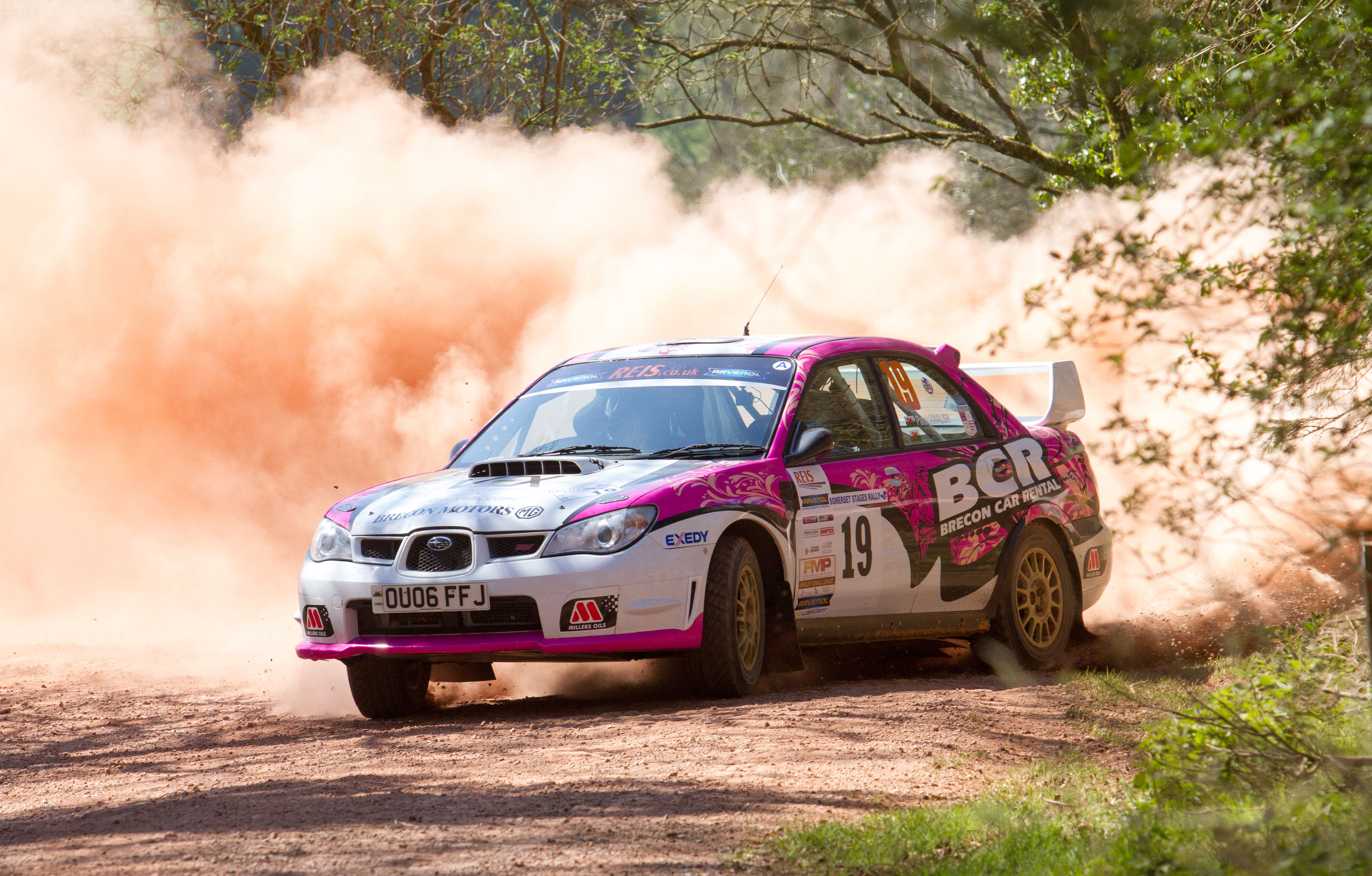 #1 British female rally driver Sara Williams heads to the desert for FIA rally project