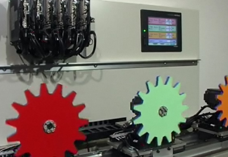 MitsDMA53 - Mitsubishi Servo Test Rig Video