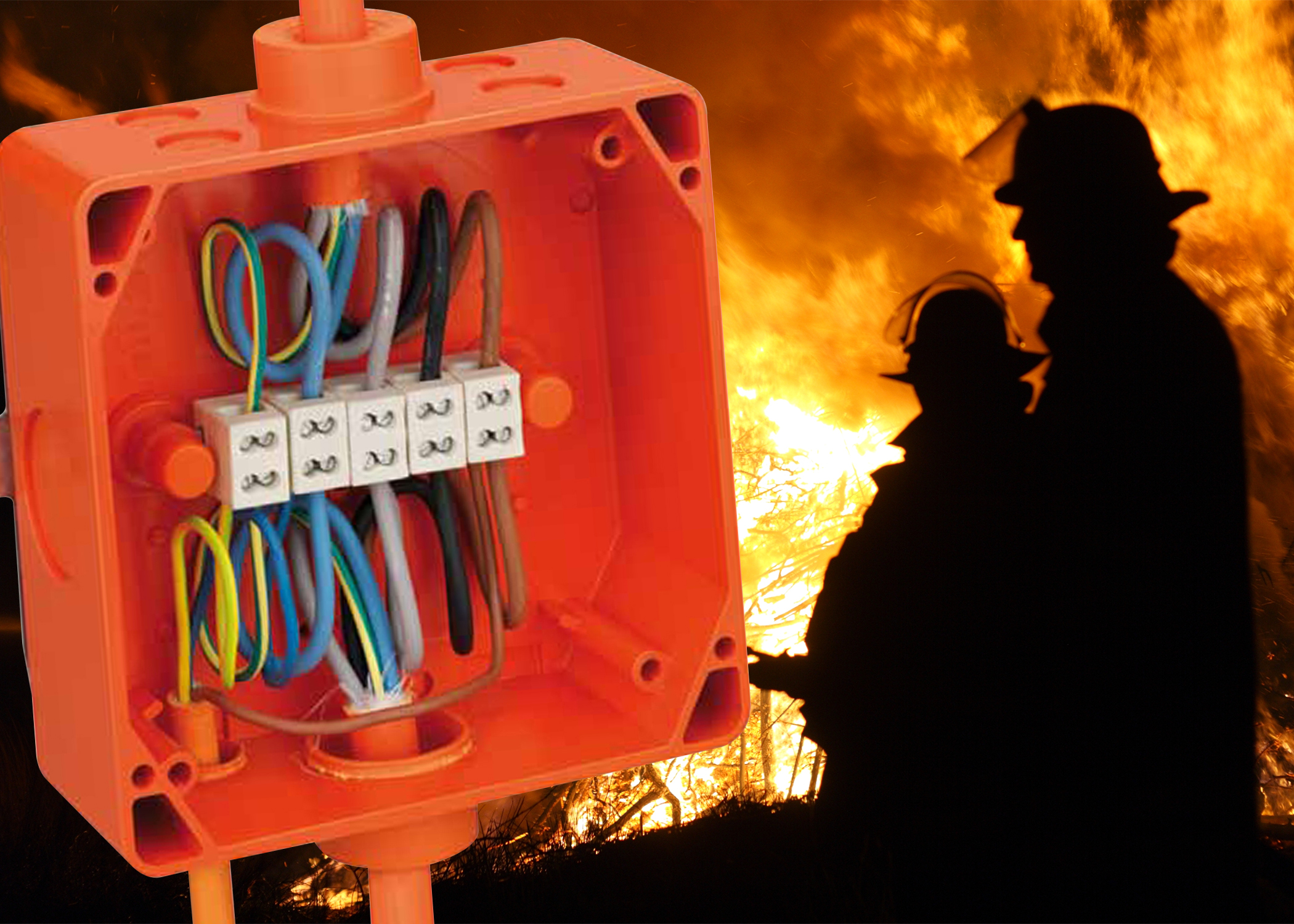 Do you know how to specify enclosures that are compliant with fire safety regulations?