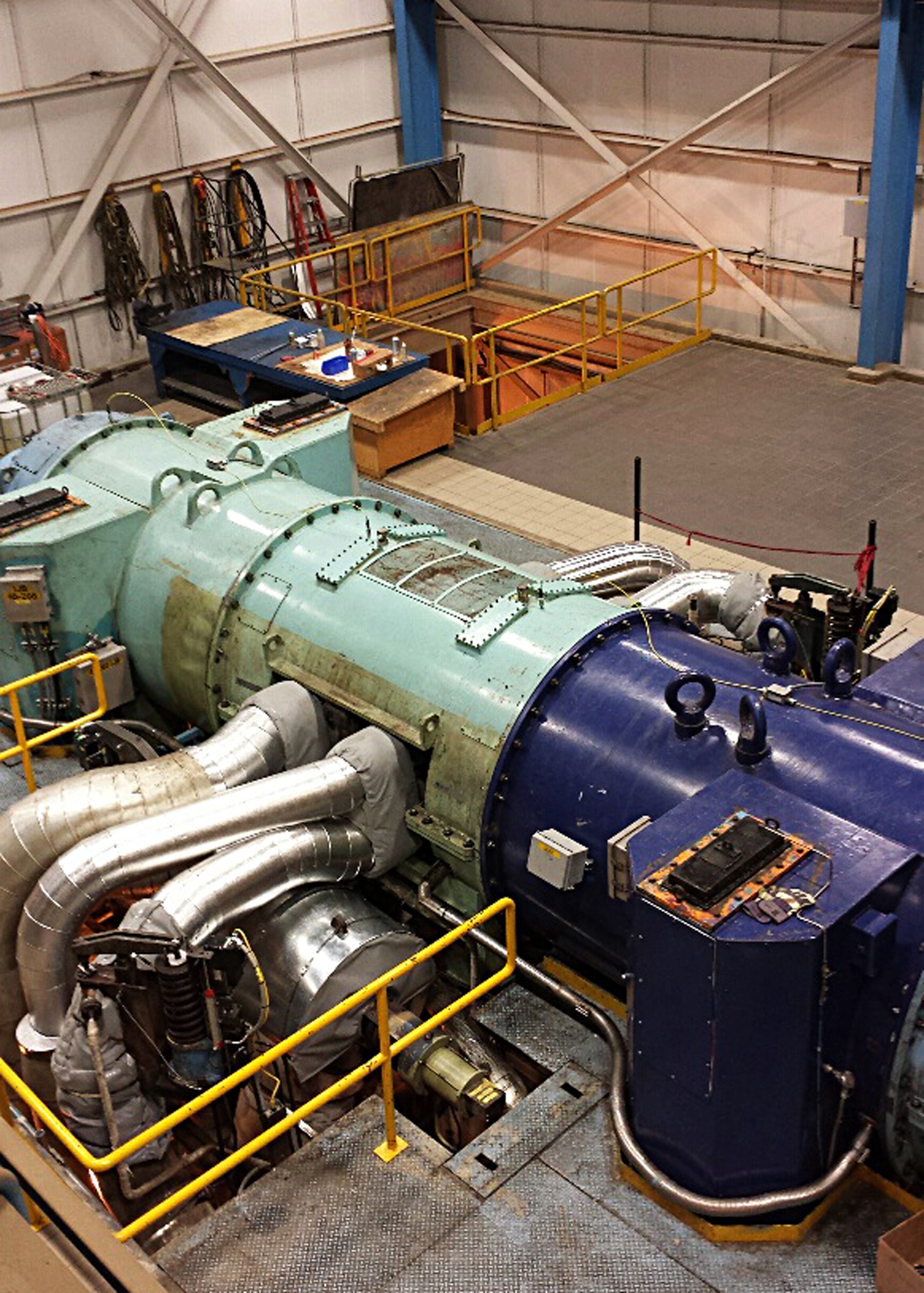 Rare Radial Steam Turbine Rejuvenated
