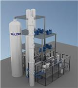 Sulzer's separation technology helps turn carbon emissions into biofuels at the ArcelorMital Gent plant