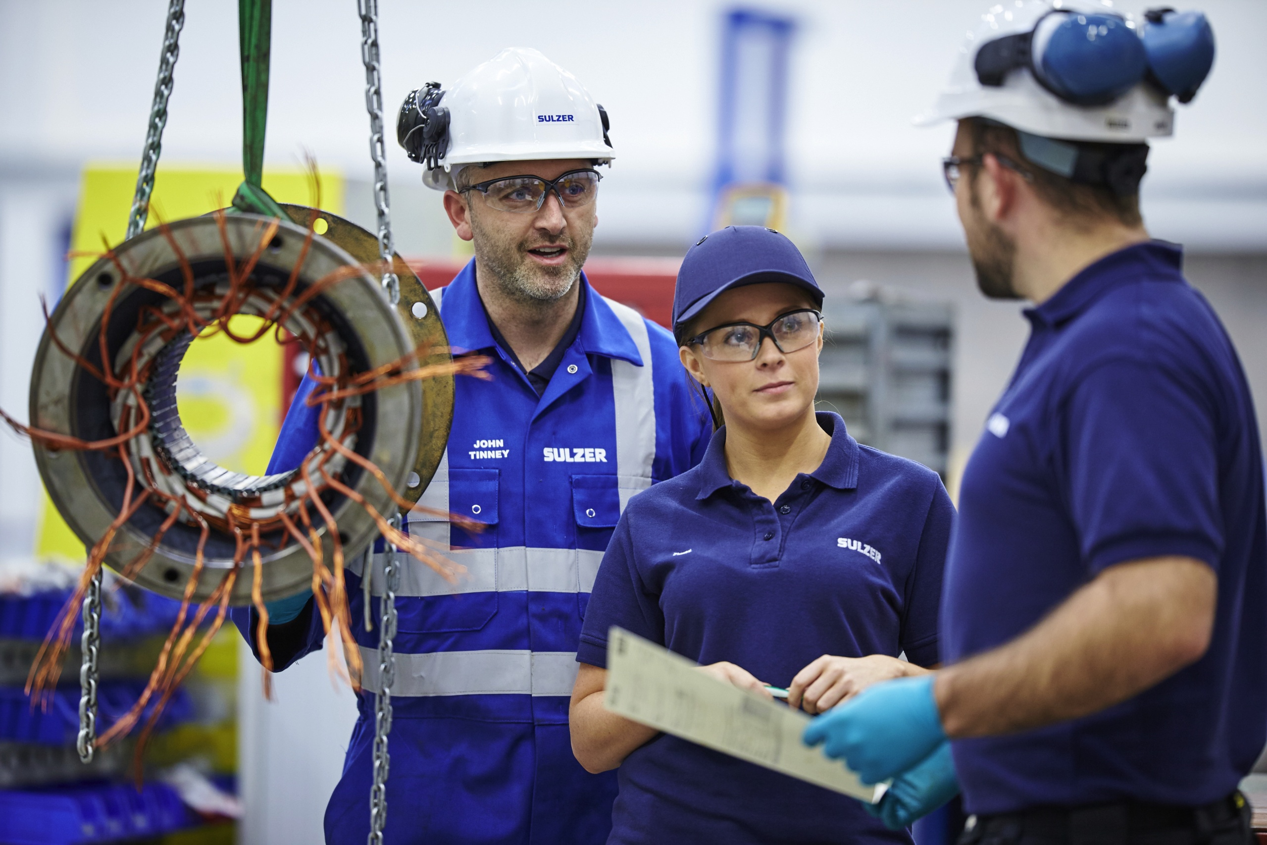 Sulzer in Glasgow Sets the Standard in Maintenance and Repairs