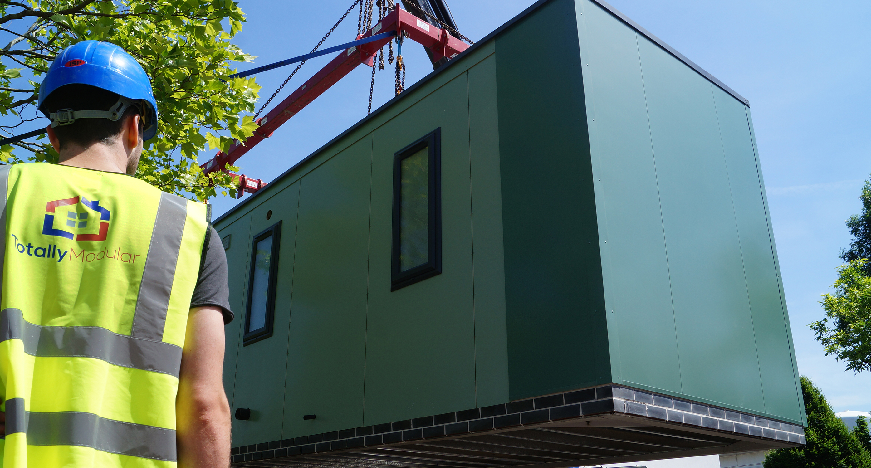 Rapid-build living modules to help government address homelessness