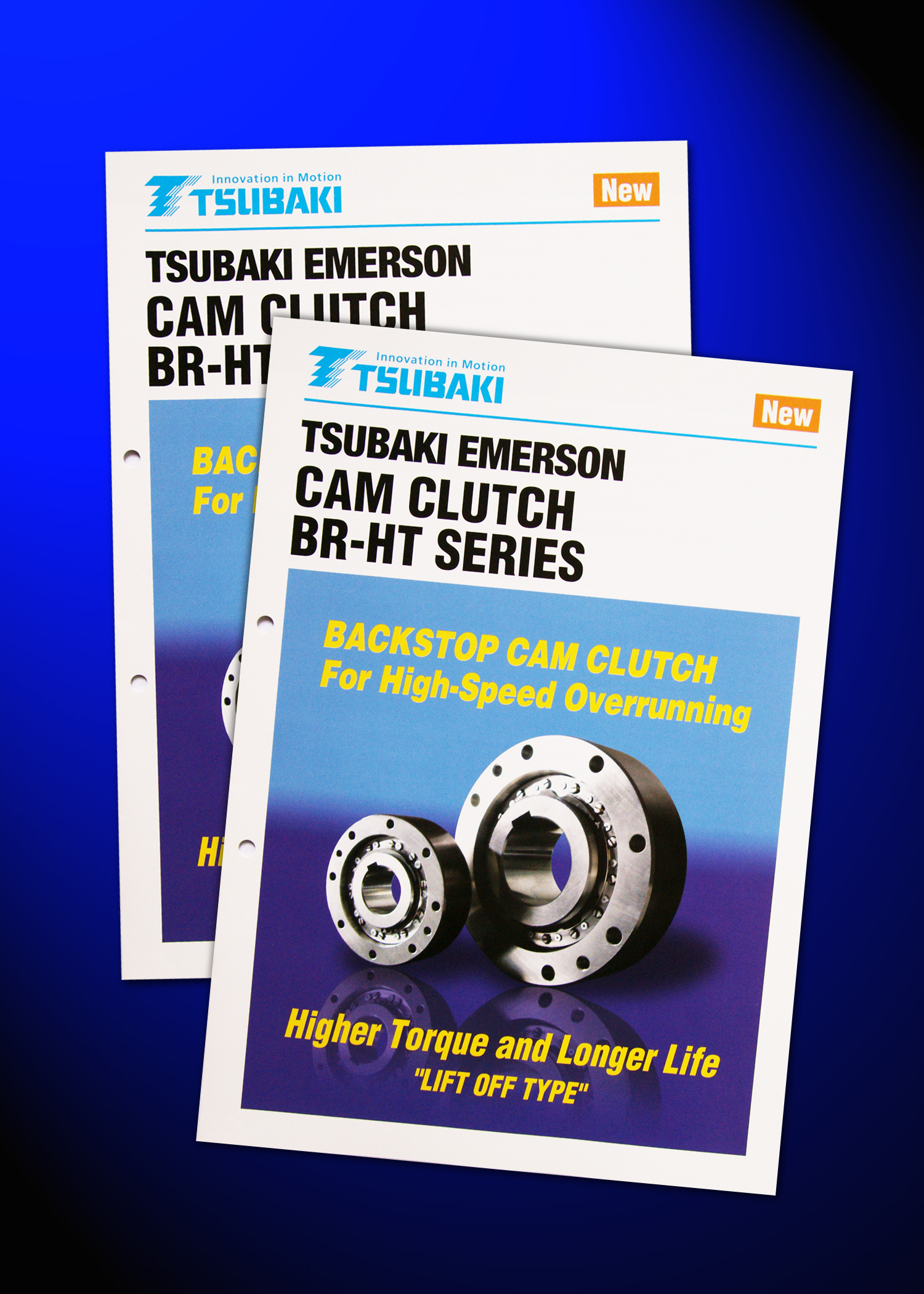 New Brochure Introduces Tsubaki's BR-HT Series Cam Clutches