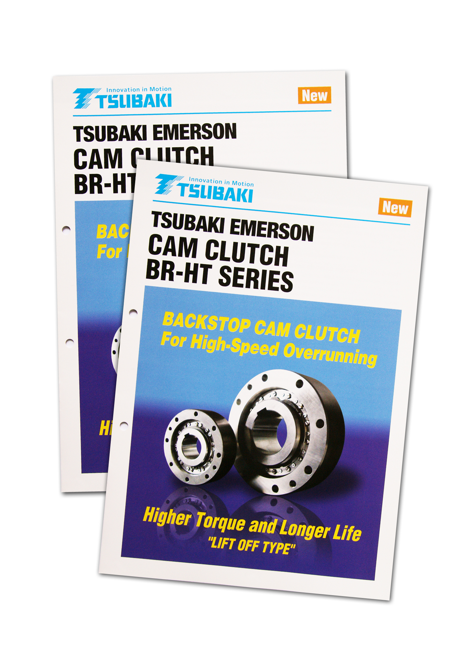 New Brochure Introduces Tsubakis BR-HT Series Cam Clutches