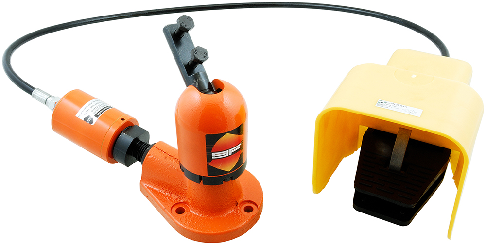 Spencer Franklin Hydraclamp range allows instant repositioning for workshop maintenance