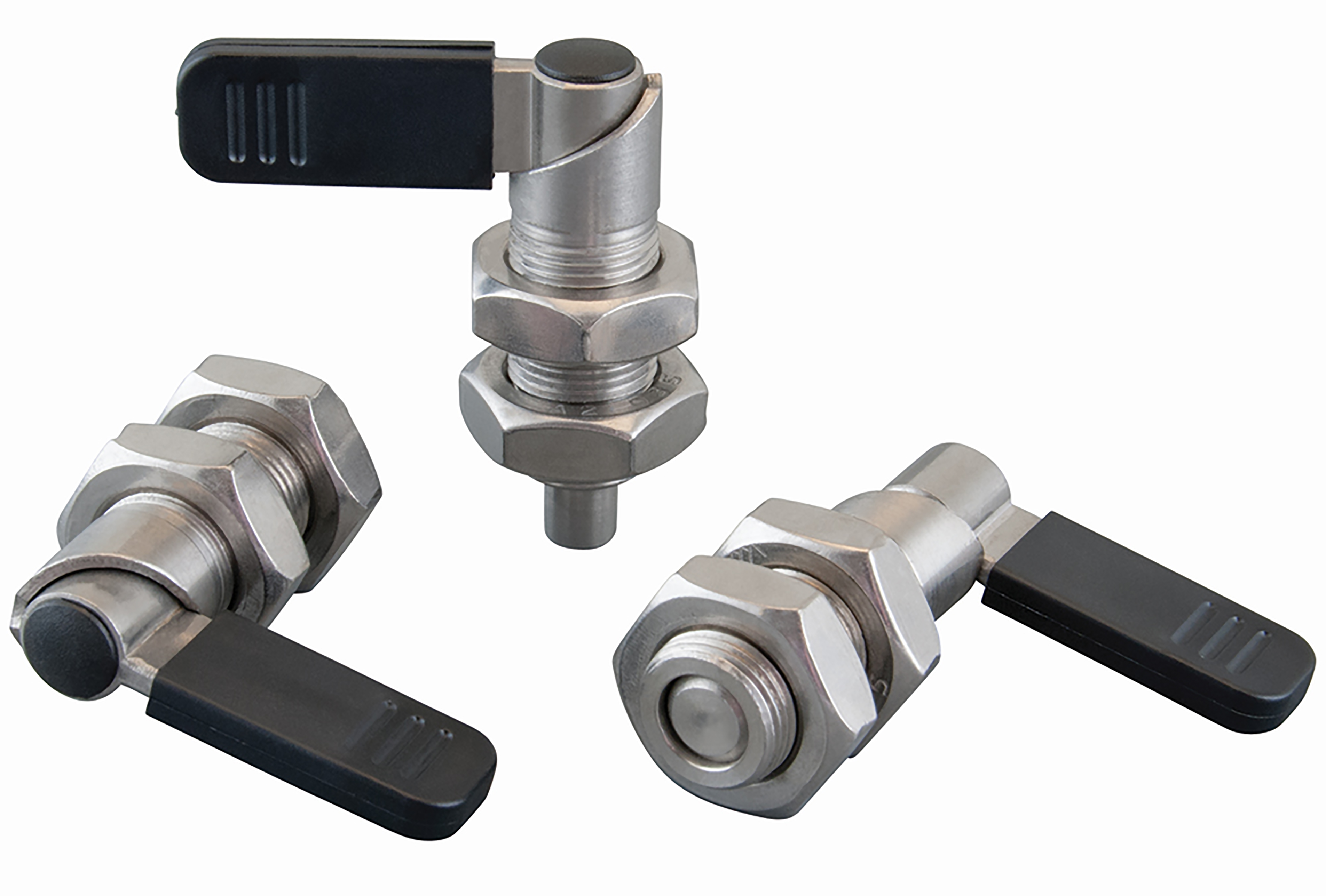 Cam operated index plungers enable easy positioning and locking
