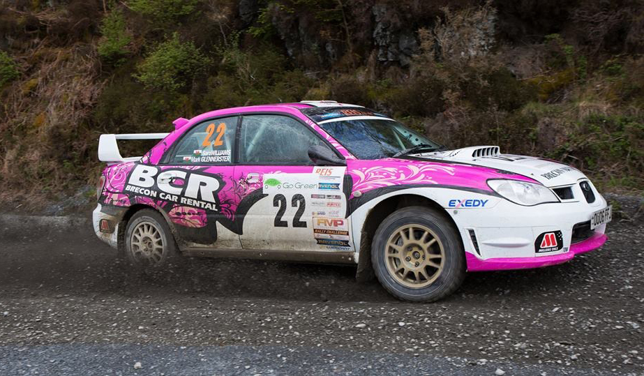 #1 British female rally driver Sara Williams wins the FMP Challenge Award at The Plains Rally 2015