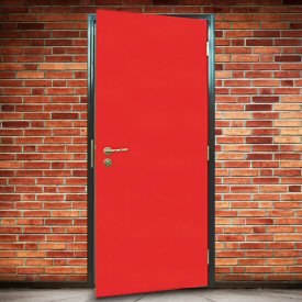 Pedestrian doors in workplaces must earn their keep