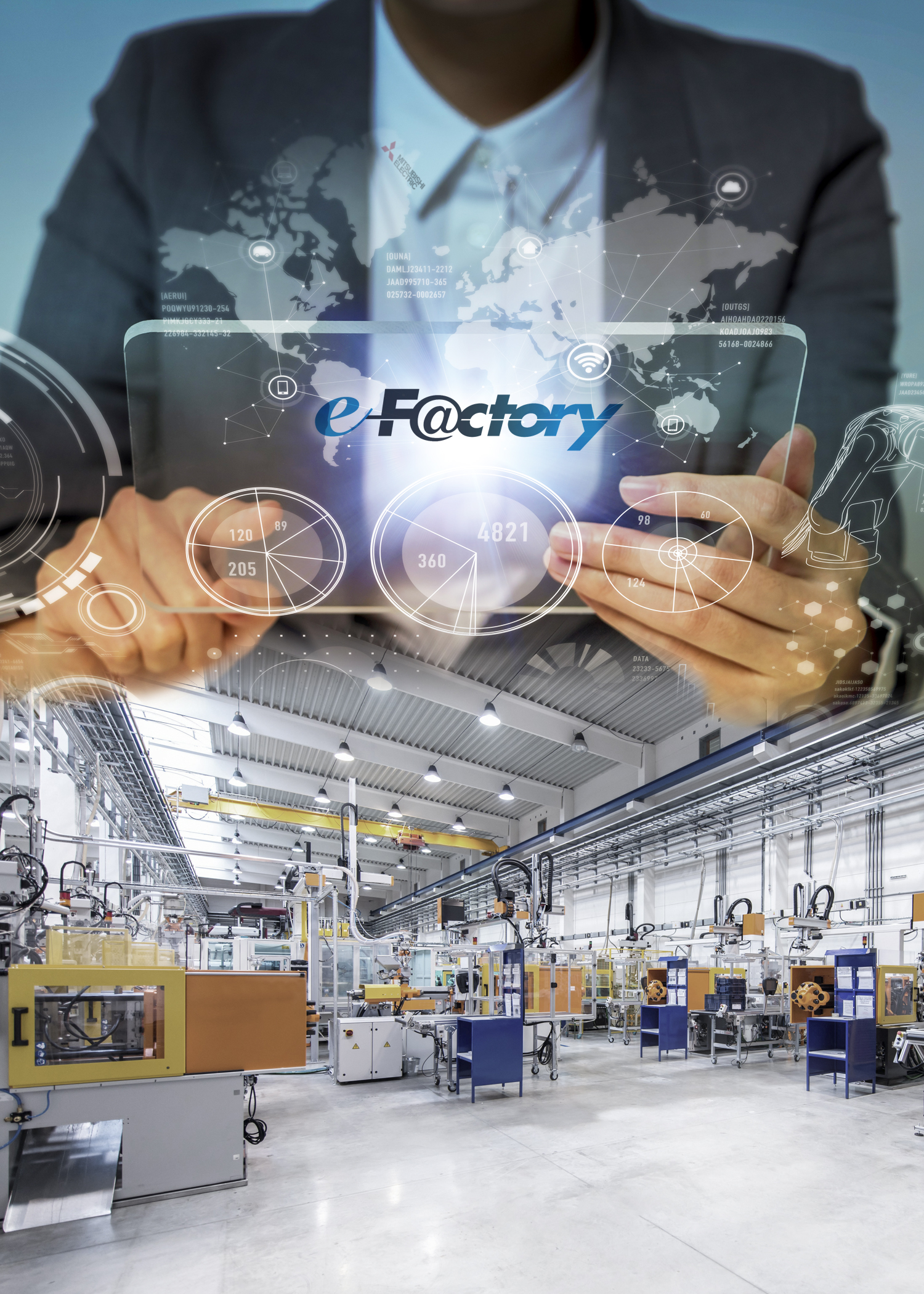 Arriving now…  the factories of the future
