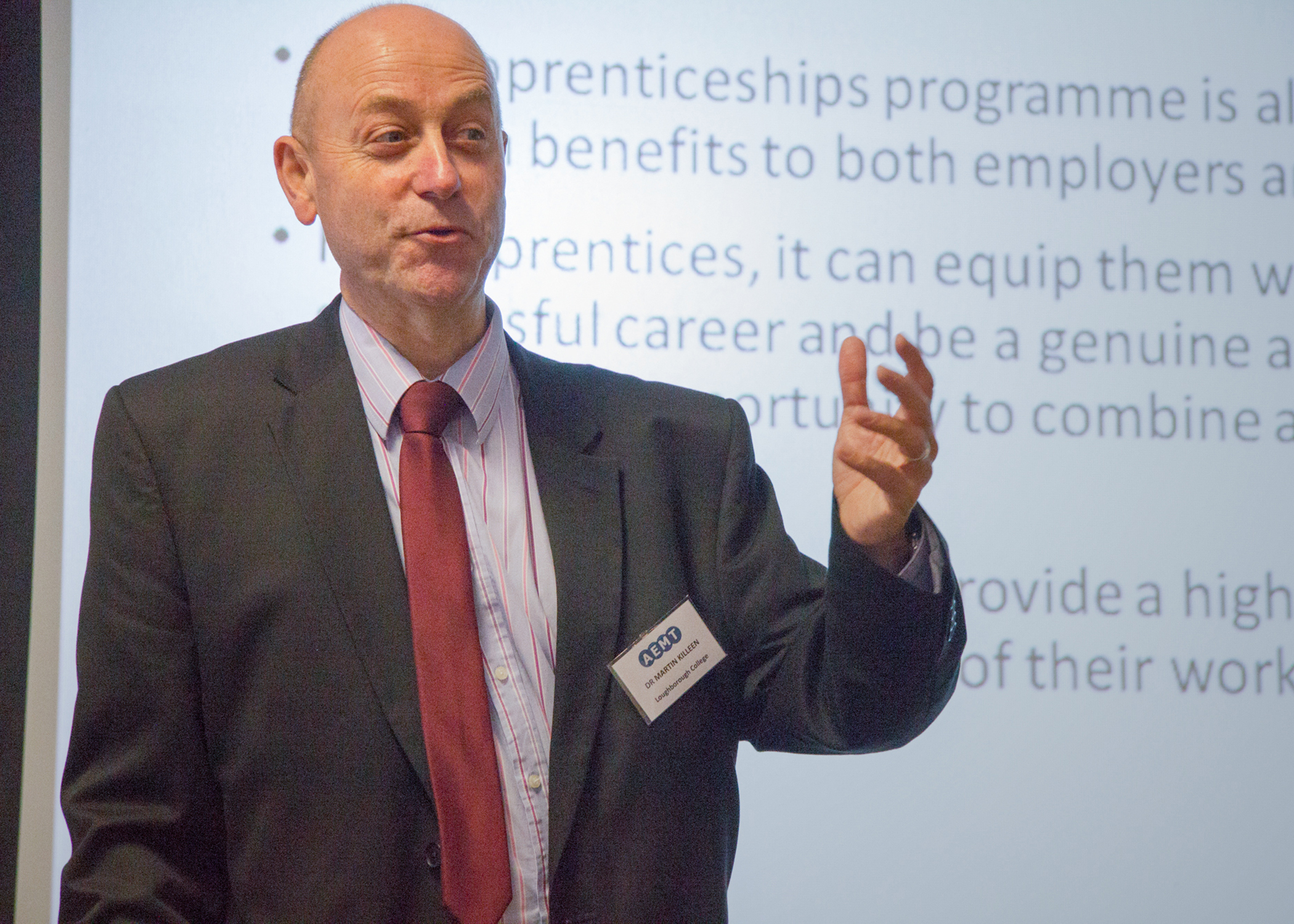 Dr. Martin Killeen joins AEMT as Lead Lecturer and Technical Specialist