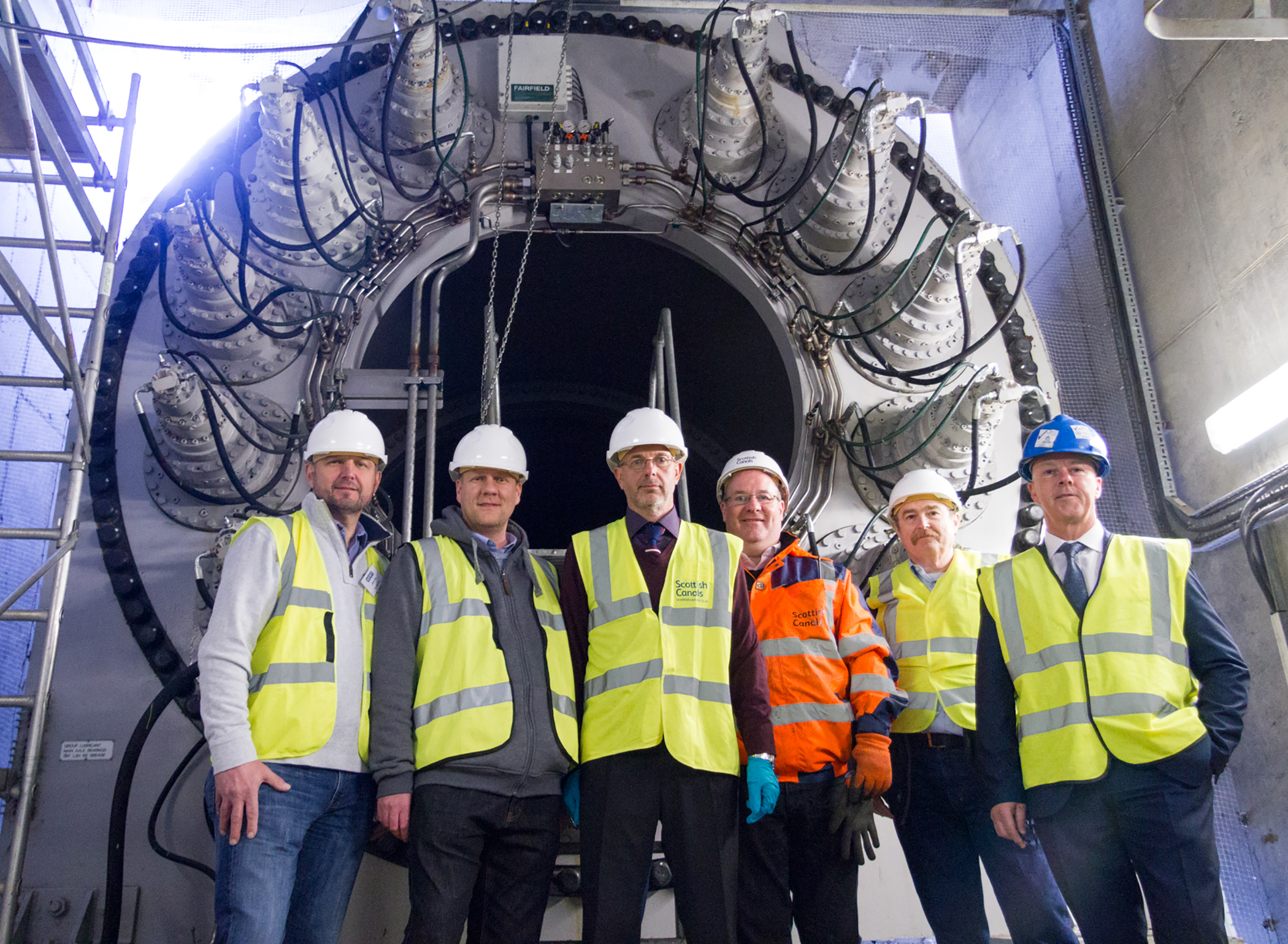 AEMT Visits the Scottish Canal's Falkirk Wheel.