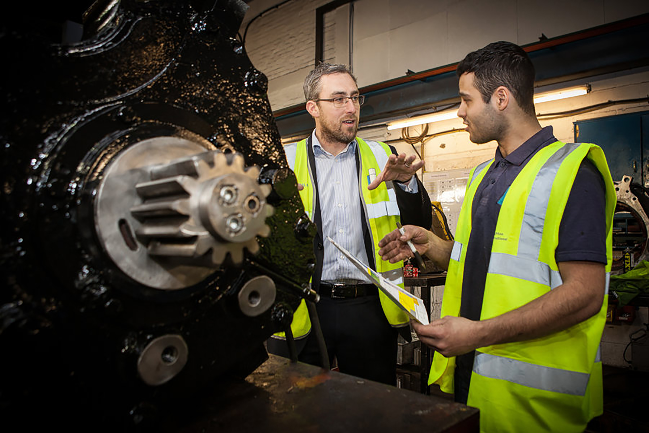 Greater Anglia apprentices gain 'traction' with AEMT member Houghton International