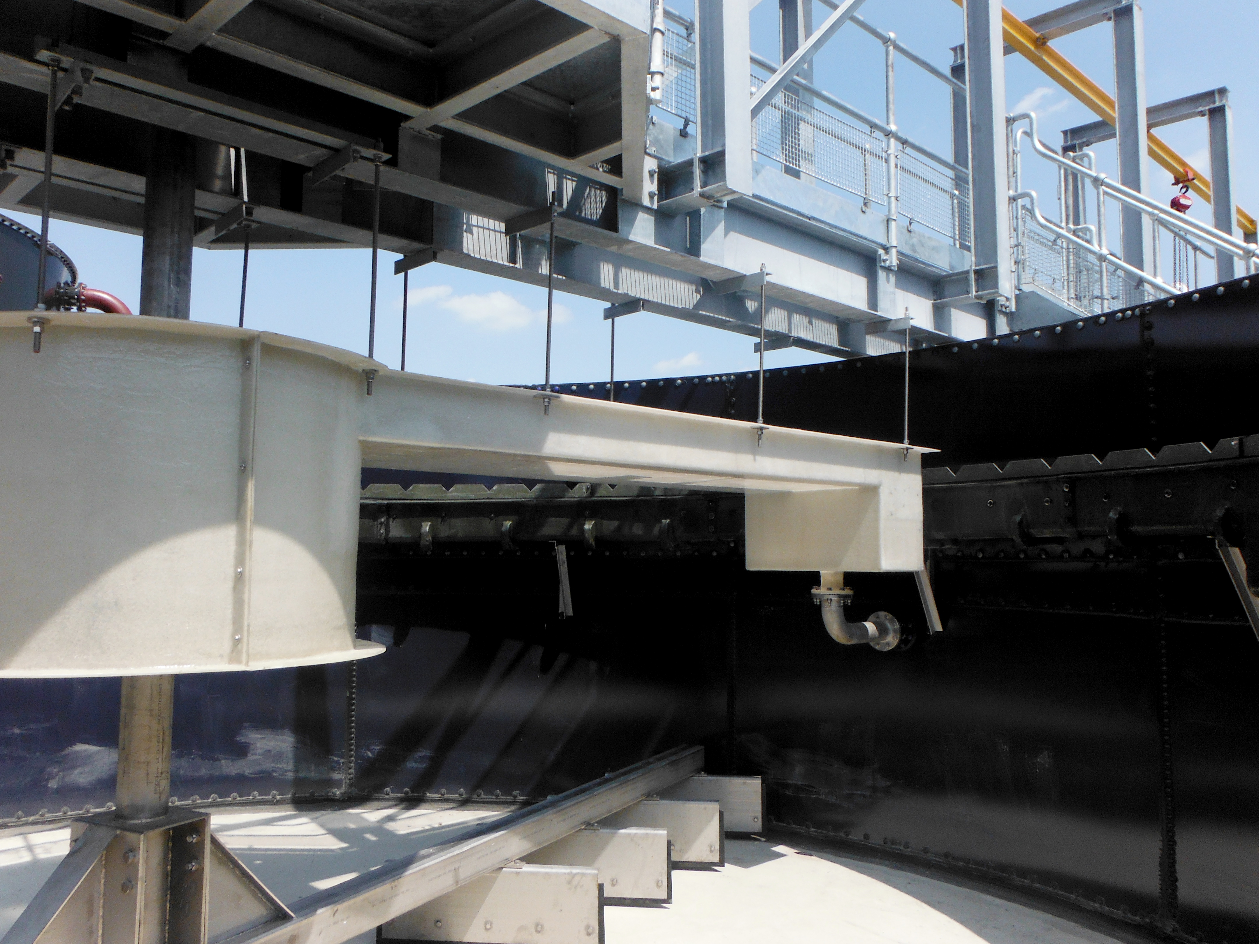 Turnkey sludge thickeners backed by expertise and experience