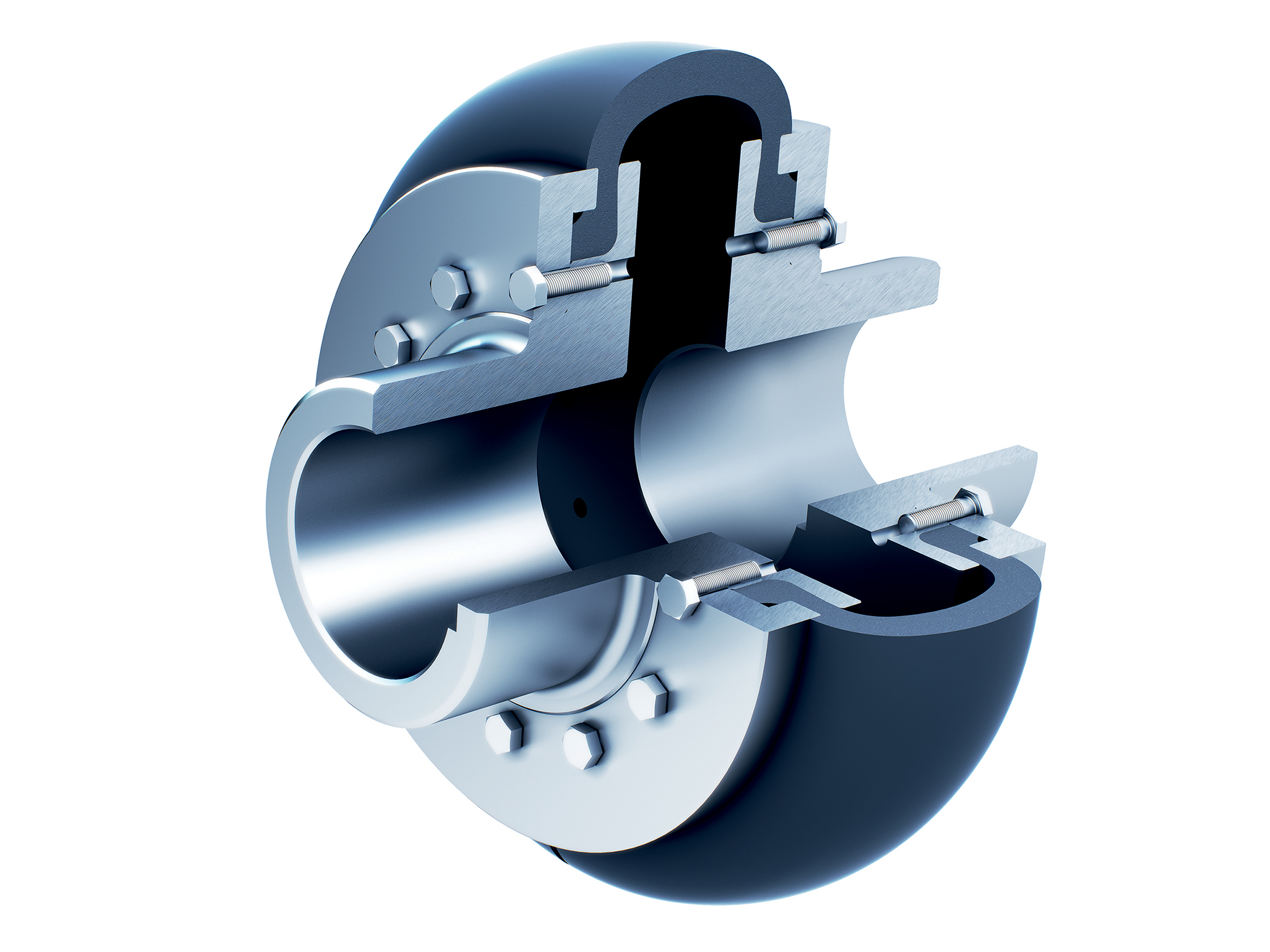 Stromag Periflex® tyre couplings accommodate misalignment and minimise maintenance
