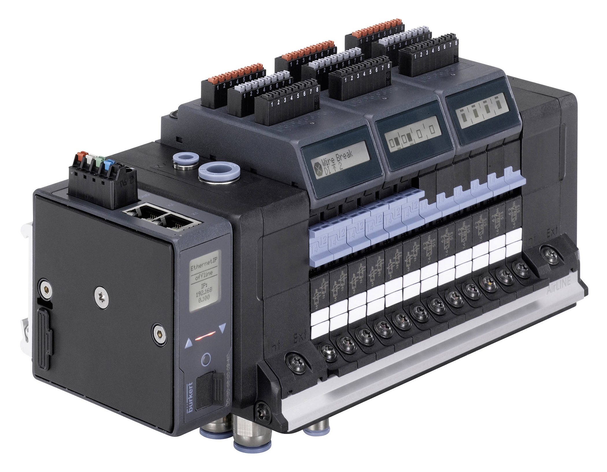New pneumatic valve island from Bürkert offers improved flexibility and process safety